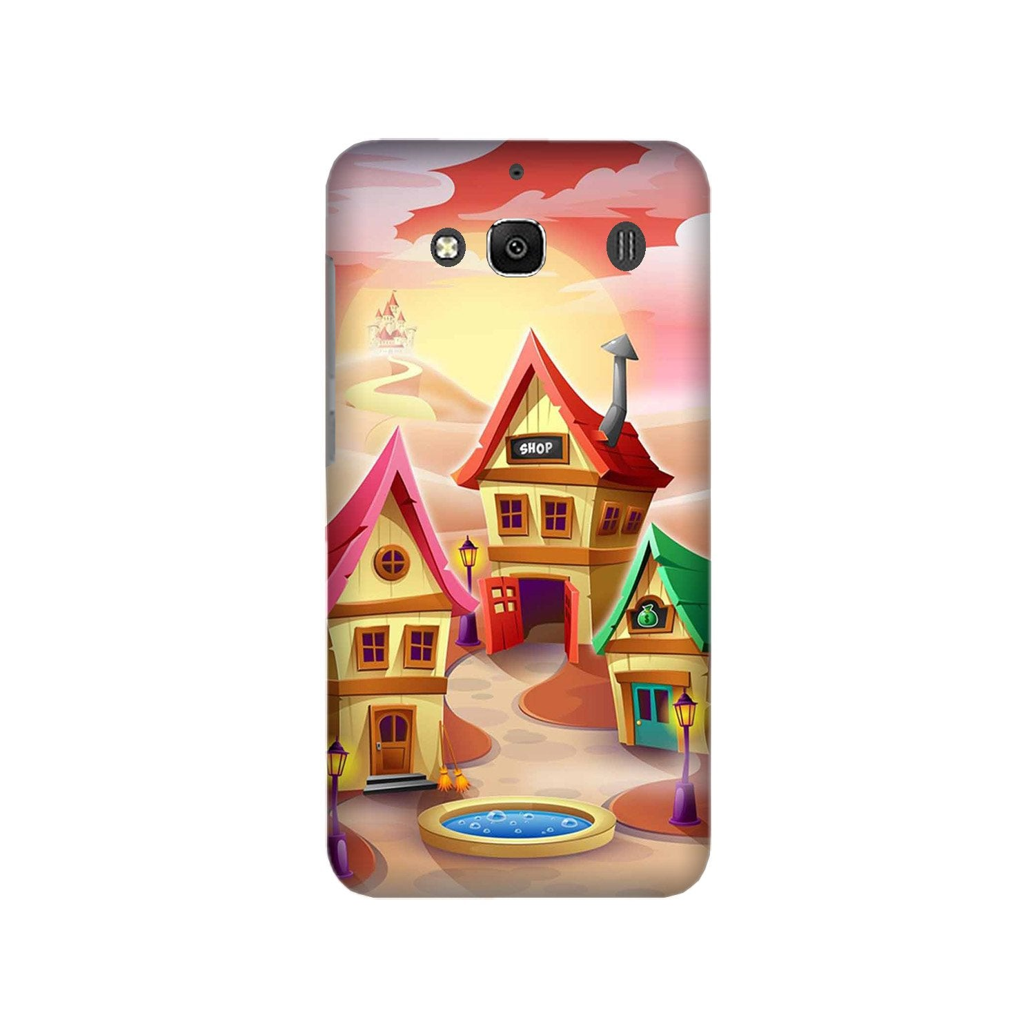 Sweet Home Mobile Back Case for Redmi 2 Prime  (Design - 338)