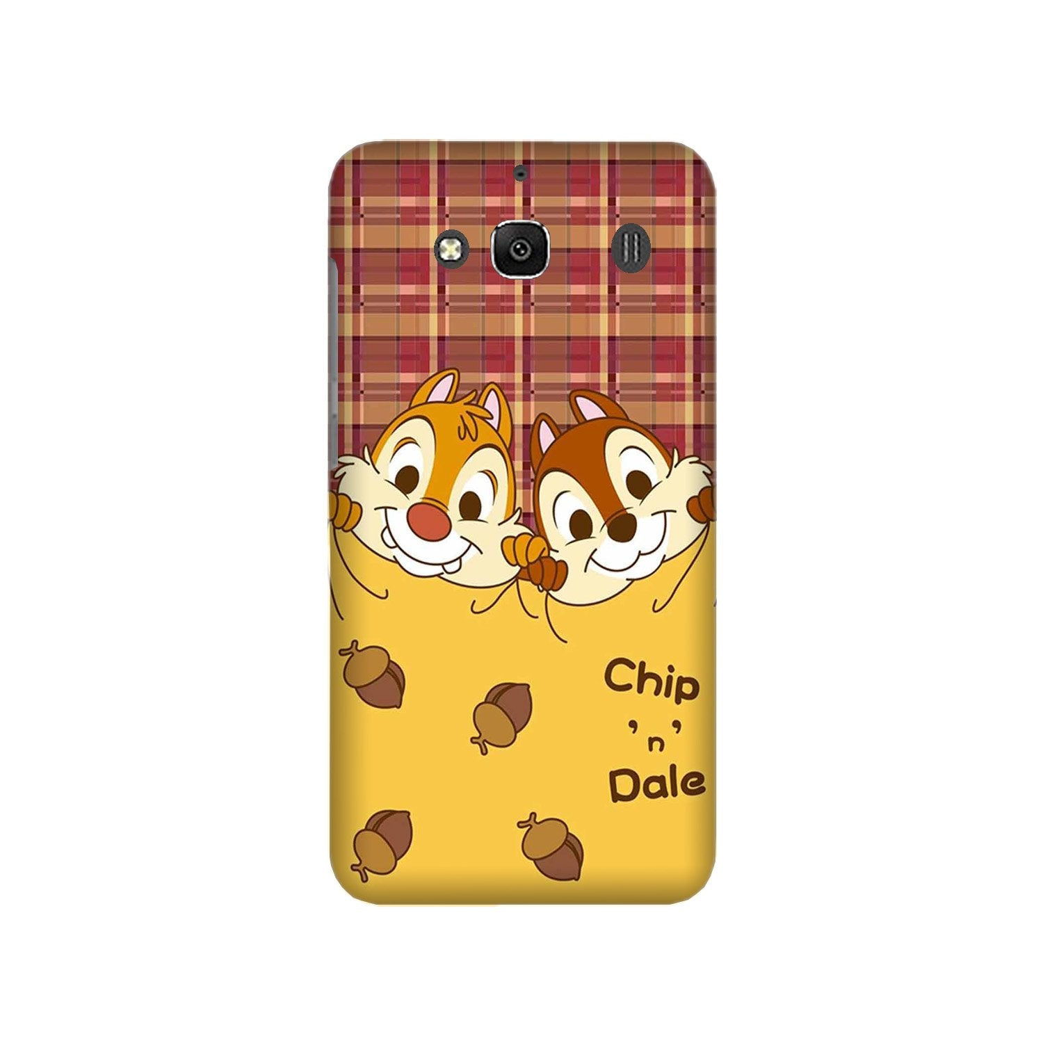 Chip n Dale Mobile Back Case for Redmi 2 Prime  (Design - 342)