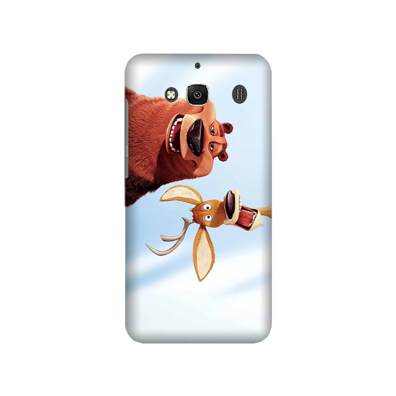 Polar Beer Mobile Back Case for Redmi 2 Prime  (Design - 344)