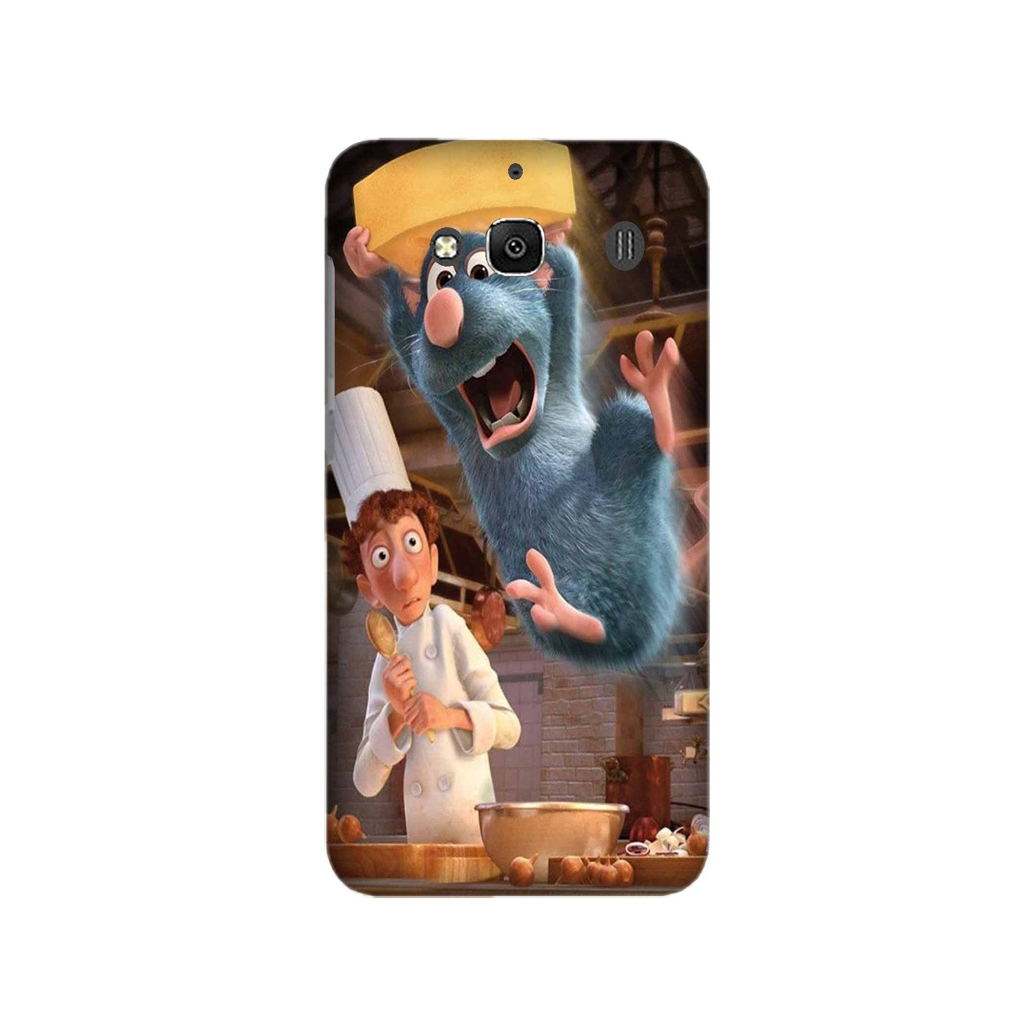 Ratatouille Mobile Back Case for Redmi 2 Prime  (Design - 347)
