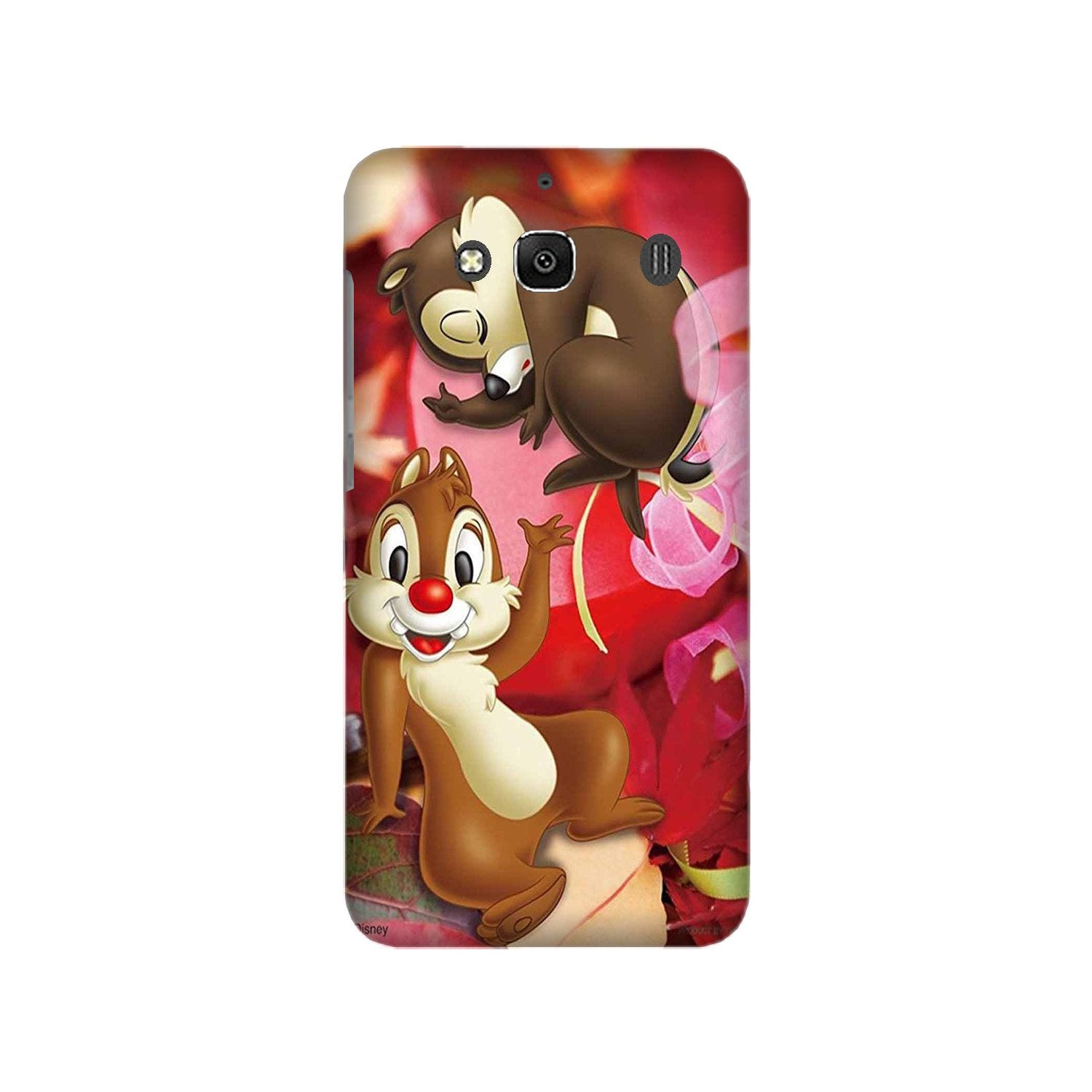 Chip n Dale Mobile Back Case for Redmi 2 Prime  (Design - 349)