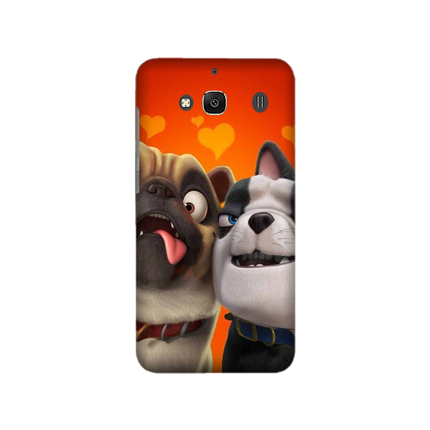 Dog Puppy Mobile Back Case for Redmi 2 Prime  (Design - 350)