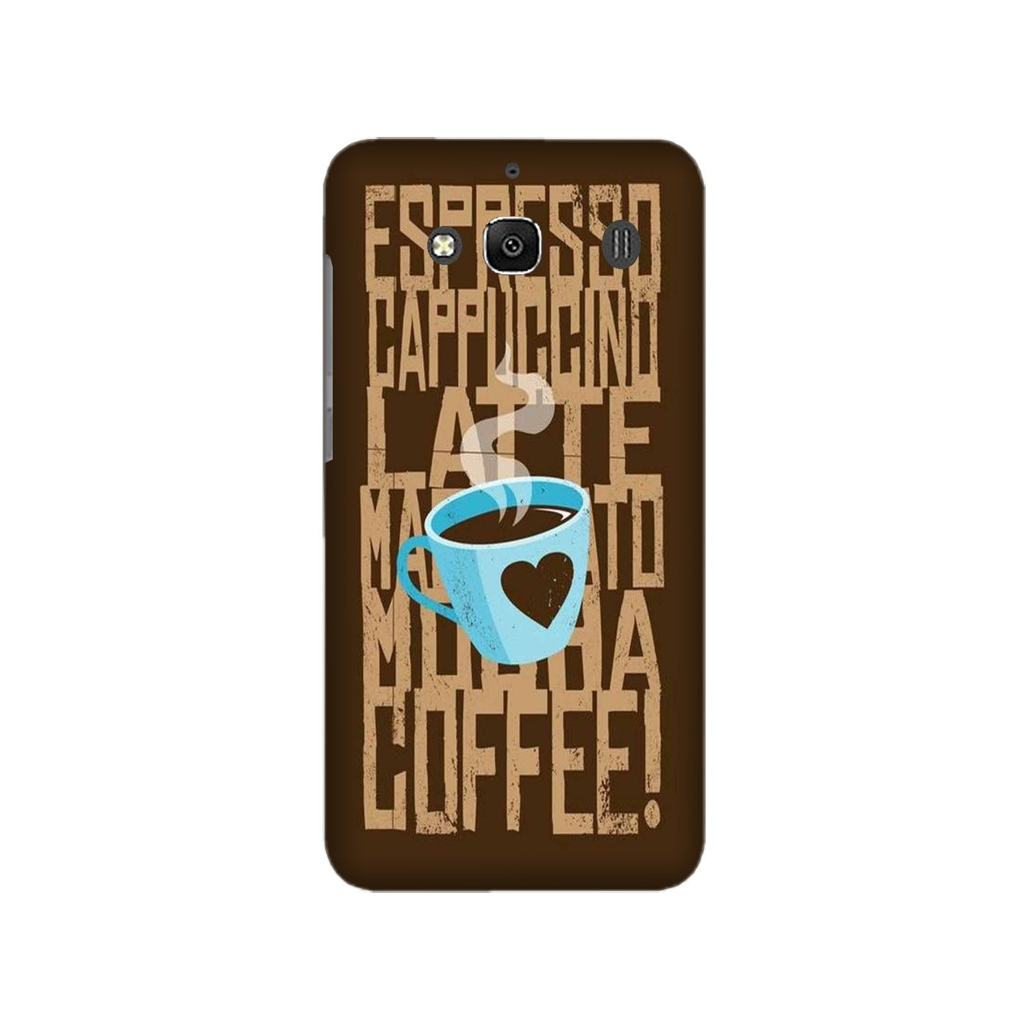 Love Coffee Mobile Back Case for Redmi 2 Prime  (Design - 351)