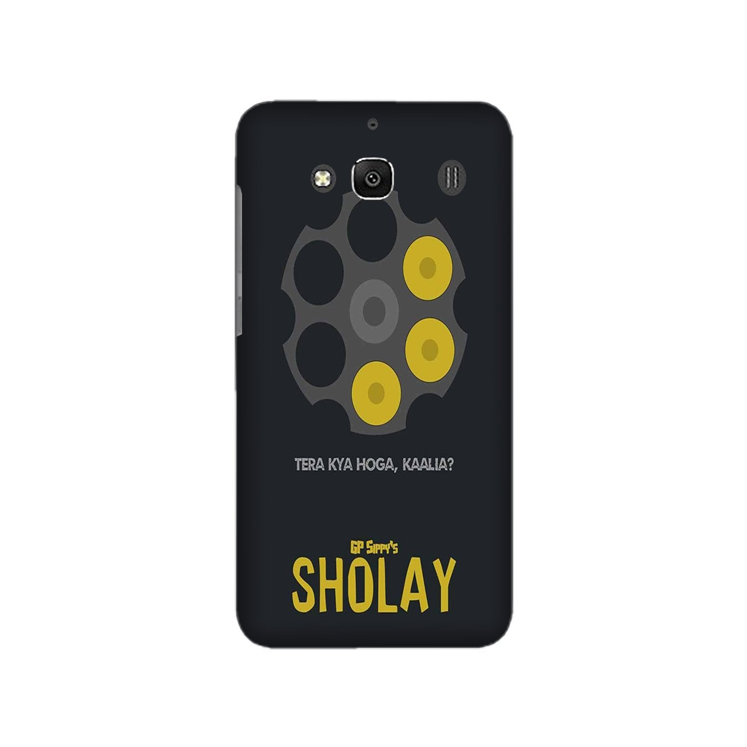 Sholay Mobile Back Case for Redmi 2 Prime  (Design - 356)