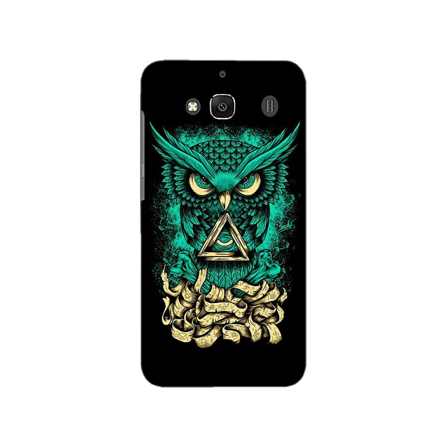 Owl Mobile Back Case for Redmi 2 Prime  (Design - 358)