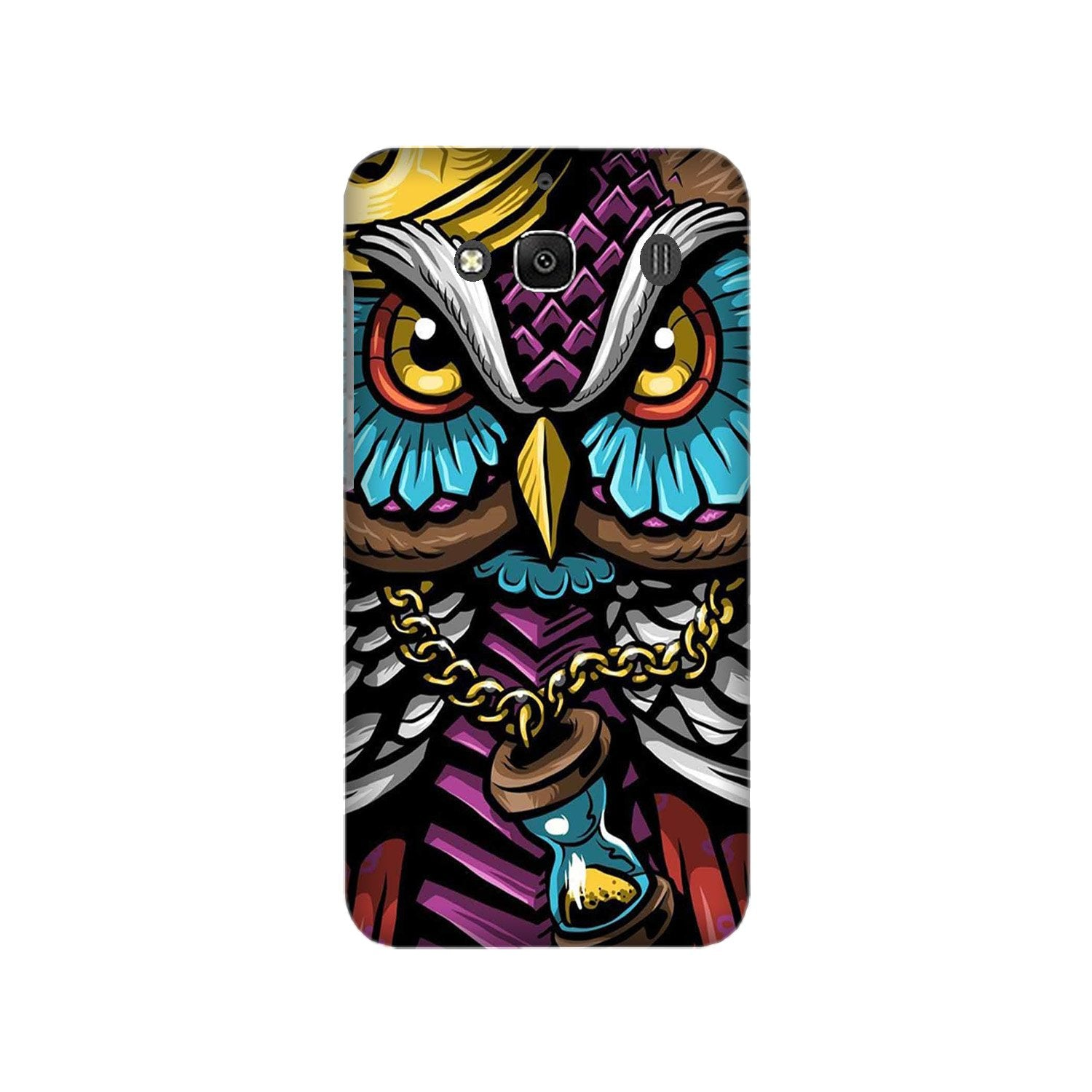 Owl Mobile Back Case for Redmi 2 Prime  (Design - 359)