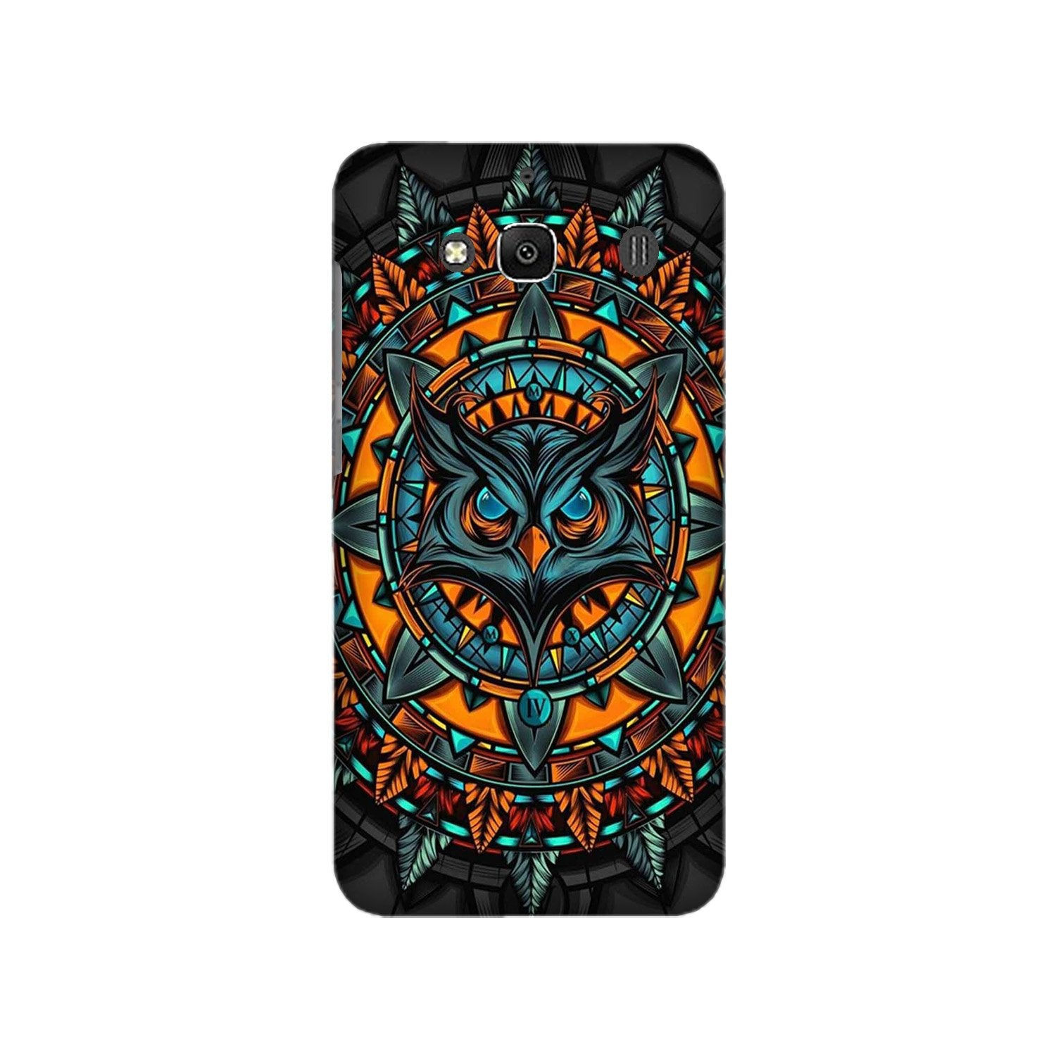 Owl Mobile Back Case for Redmi 2 Prime  (Design - 360)
