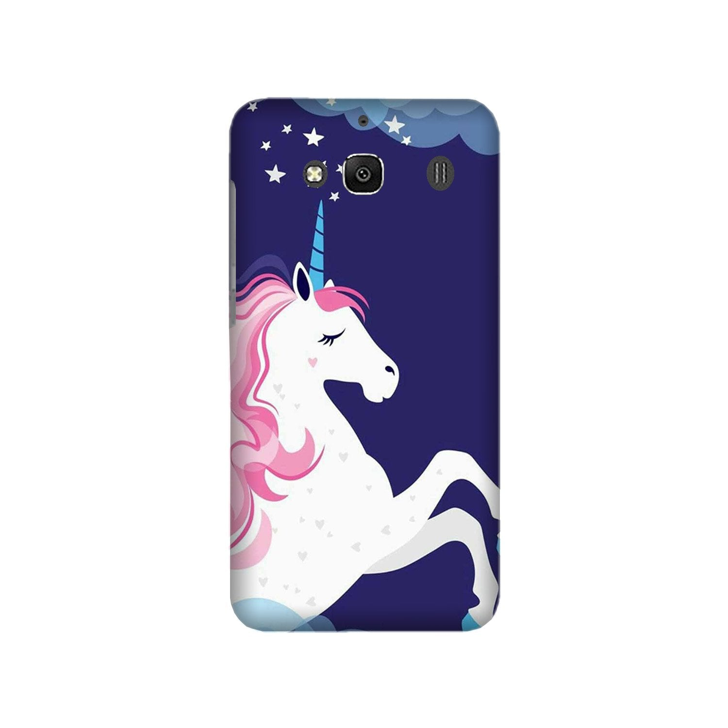 Unicorn Mobile Back Case for Redmi 2 Prime  (Design - 365)