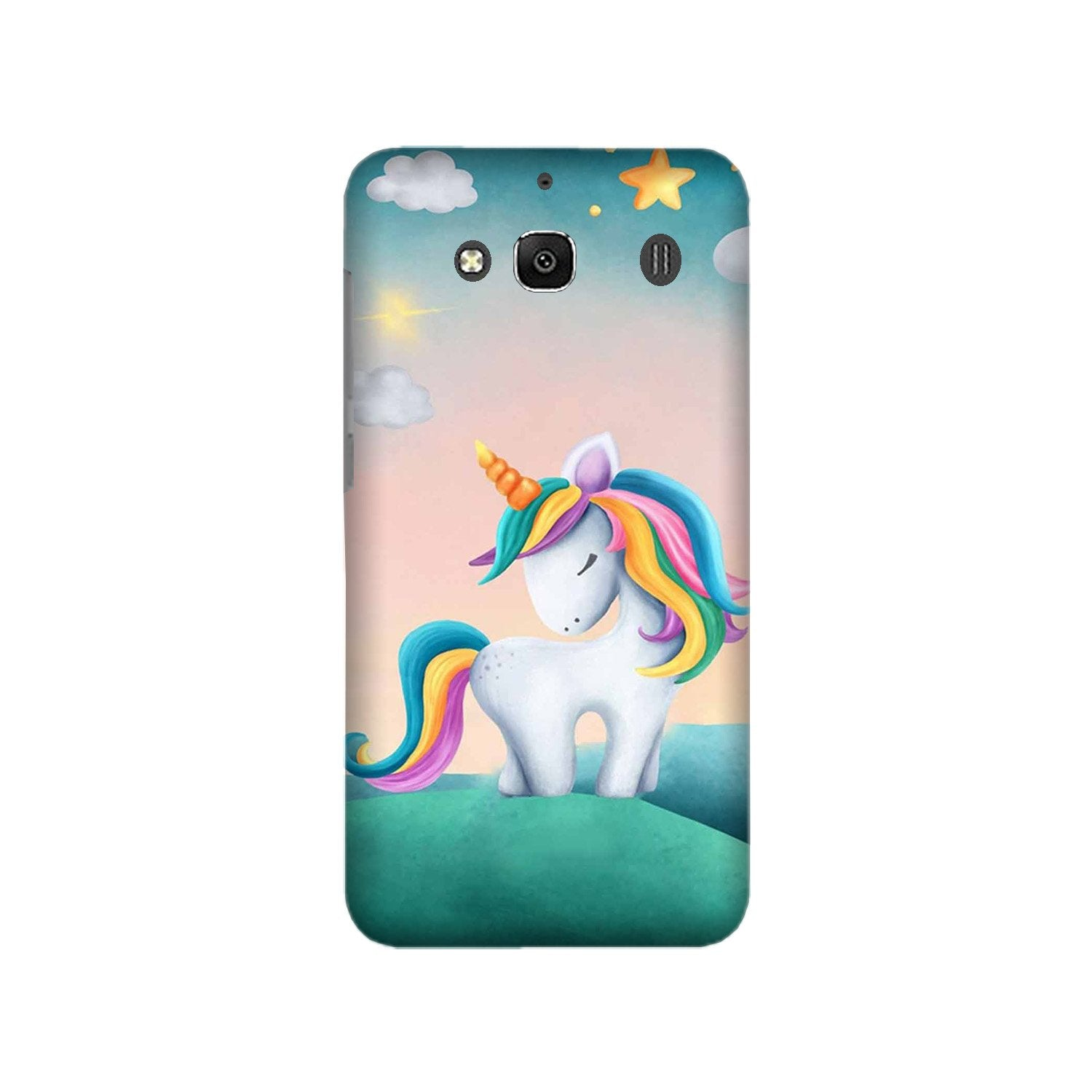 Unicorn Mobile Back Case for Redmi 2 Prime  (Design - 366)