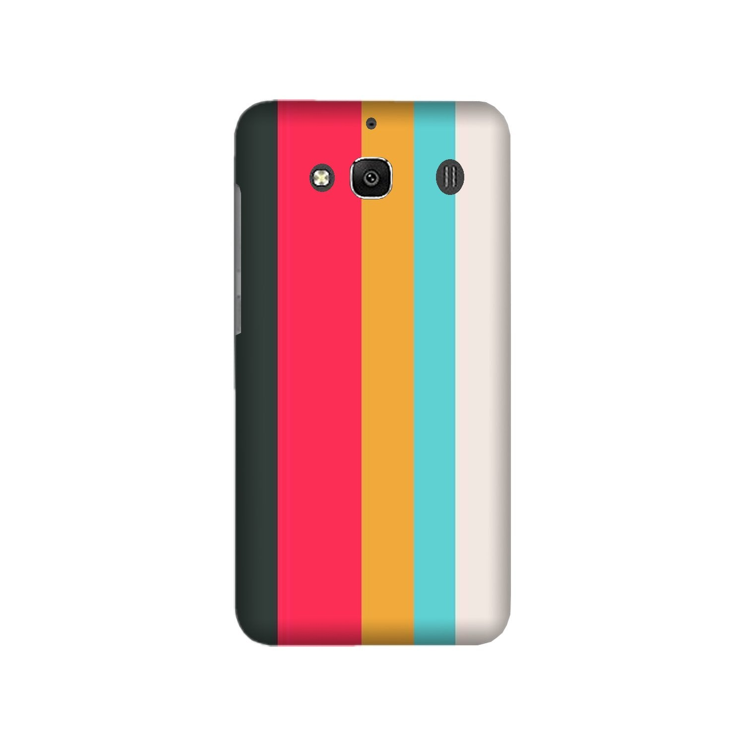 Color Pattern Mobile Back Case for Redmi 2 Prime  (Design - 369)
