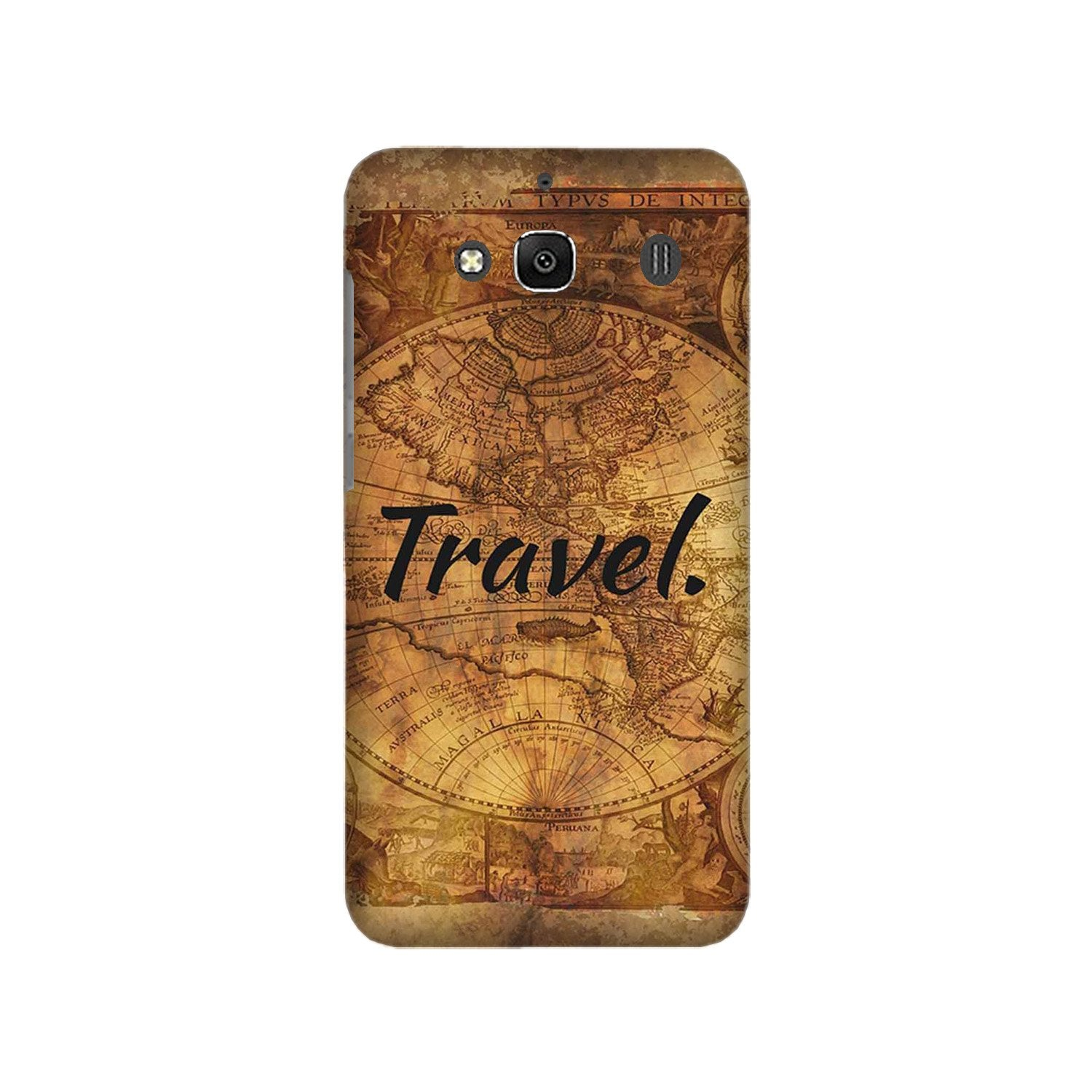 Travel Mobile Back Case for Redmi 2 Prime  (Design - 375)
