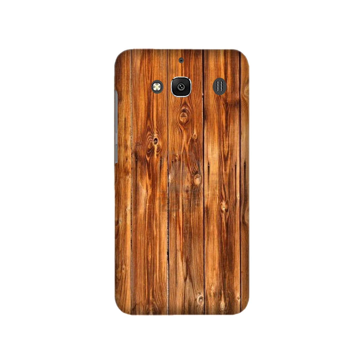 Wooden Texture Mobile Back Case for Redmi 2 Prime  (Design - 376)