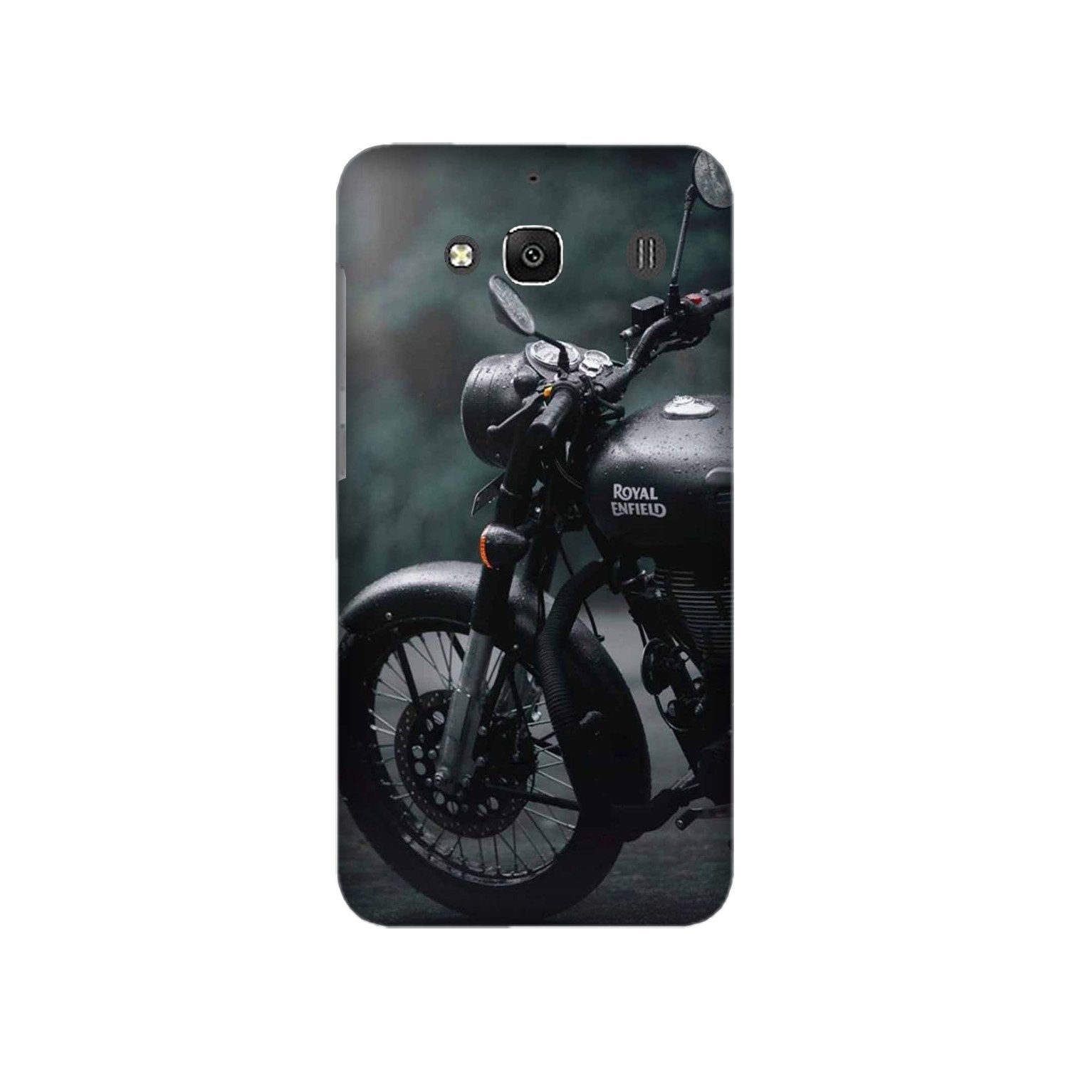 Royal Enfield Mobile Back Case for Redmi 2 Prime  (Design - 380)