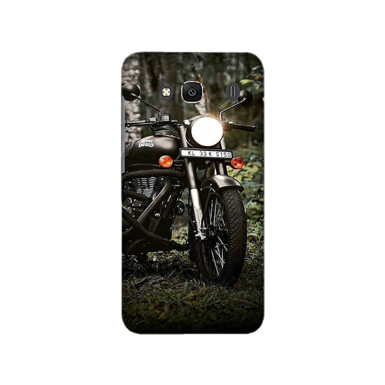 Royal Enfield Mobile Back Case for Redmi 2 Prime  (Design - 384)