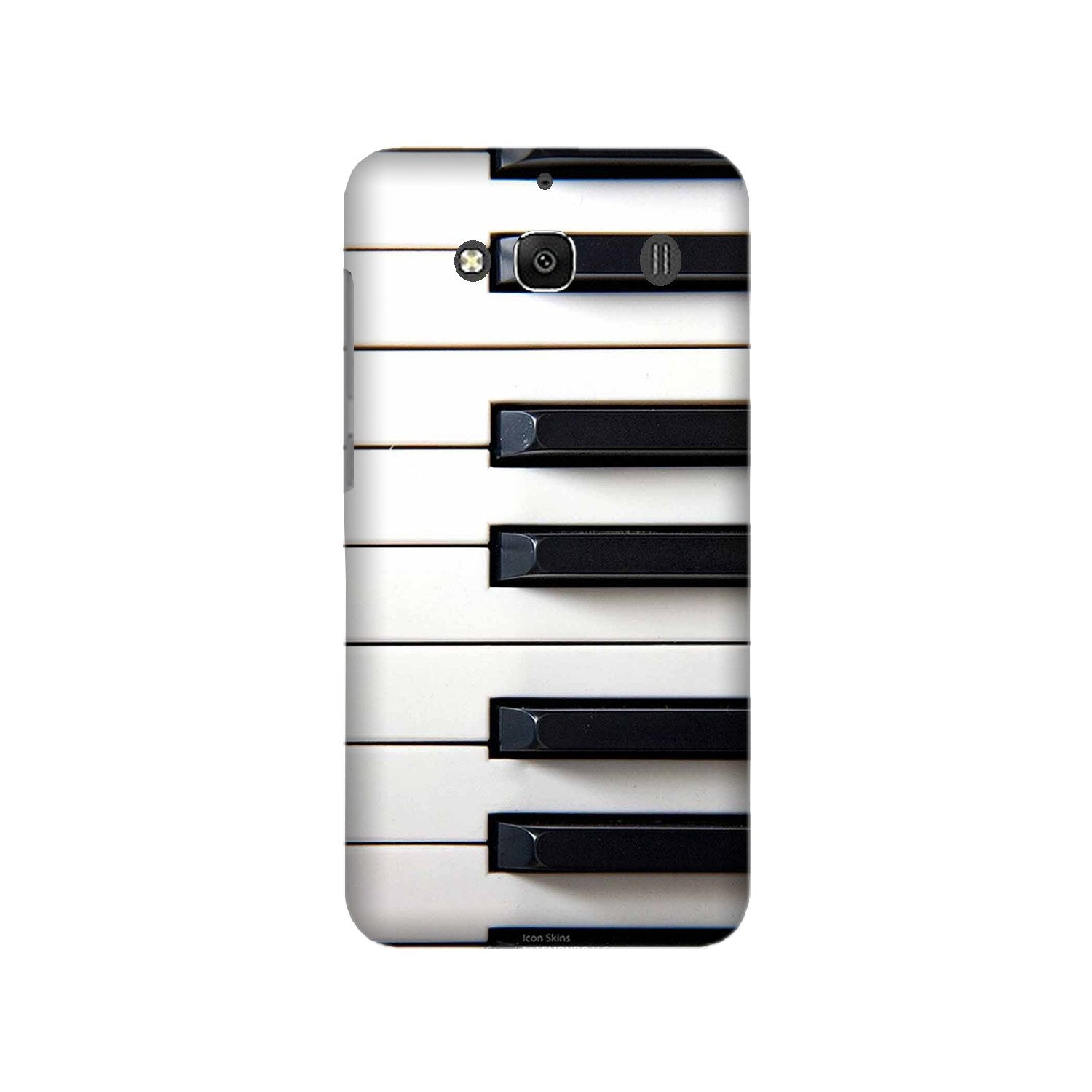 Piano Mobile Back Case for Redmi 2 Prime  (Design - 387)