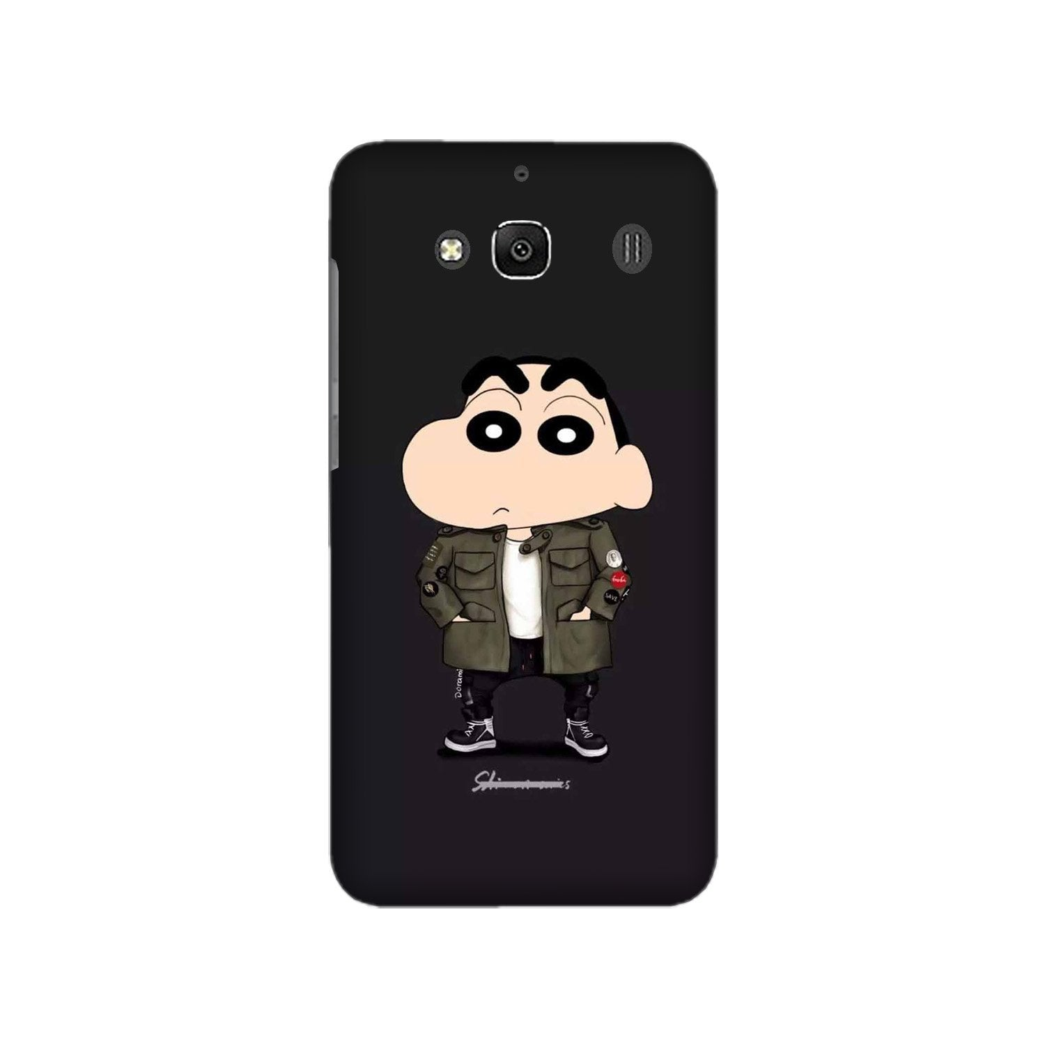 Shin Chan Mobile Back Case for Redmi 2 Prime  (Design - 391)