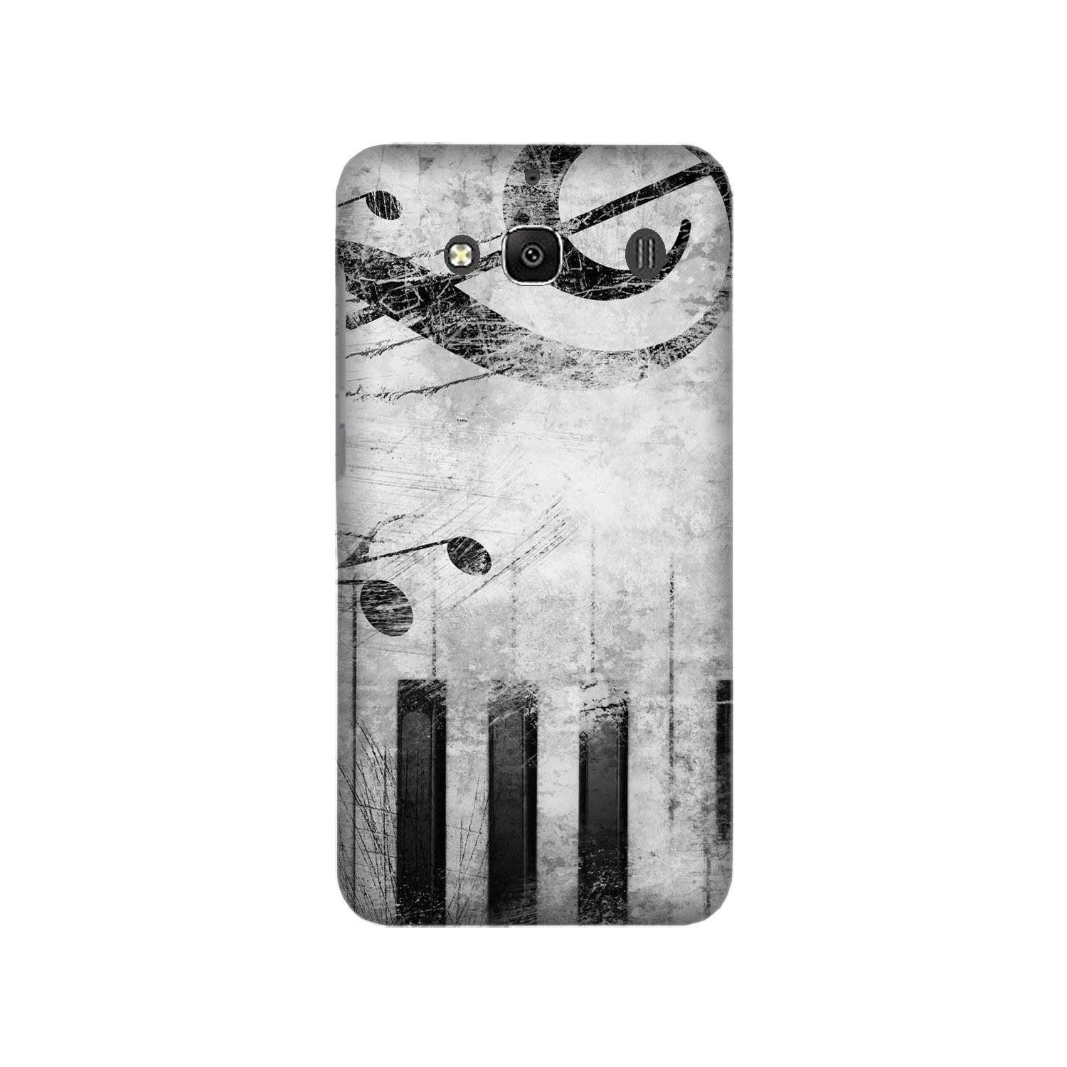 Music Mobile Back Case for Redmi 2 Prime  (Design - 394)