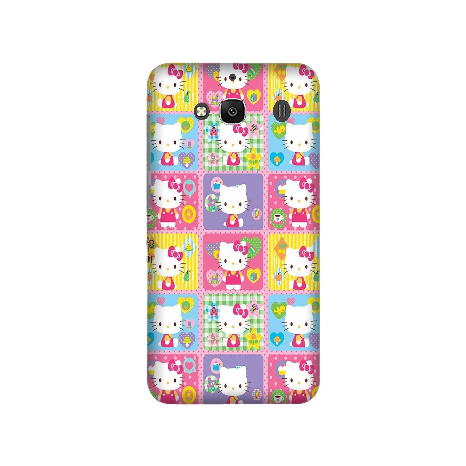Kitty Mobile Back Case for Redmi 2 Prime  (Design - 400)