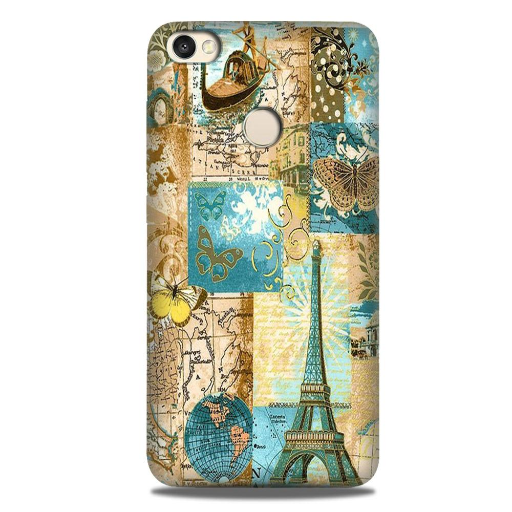 Travel Eiffel Tower Case for Google Pixel 3A (Design No. 206)