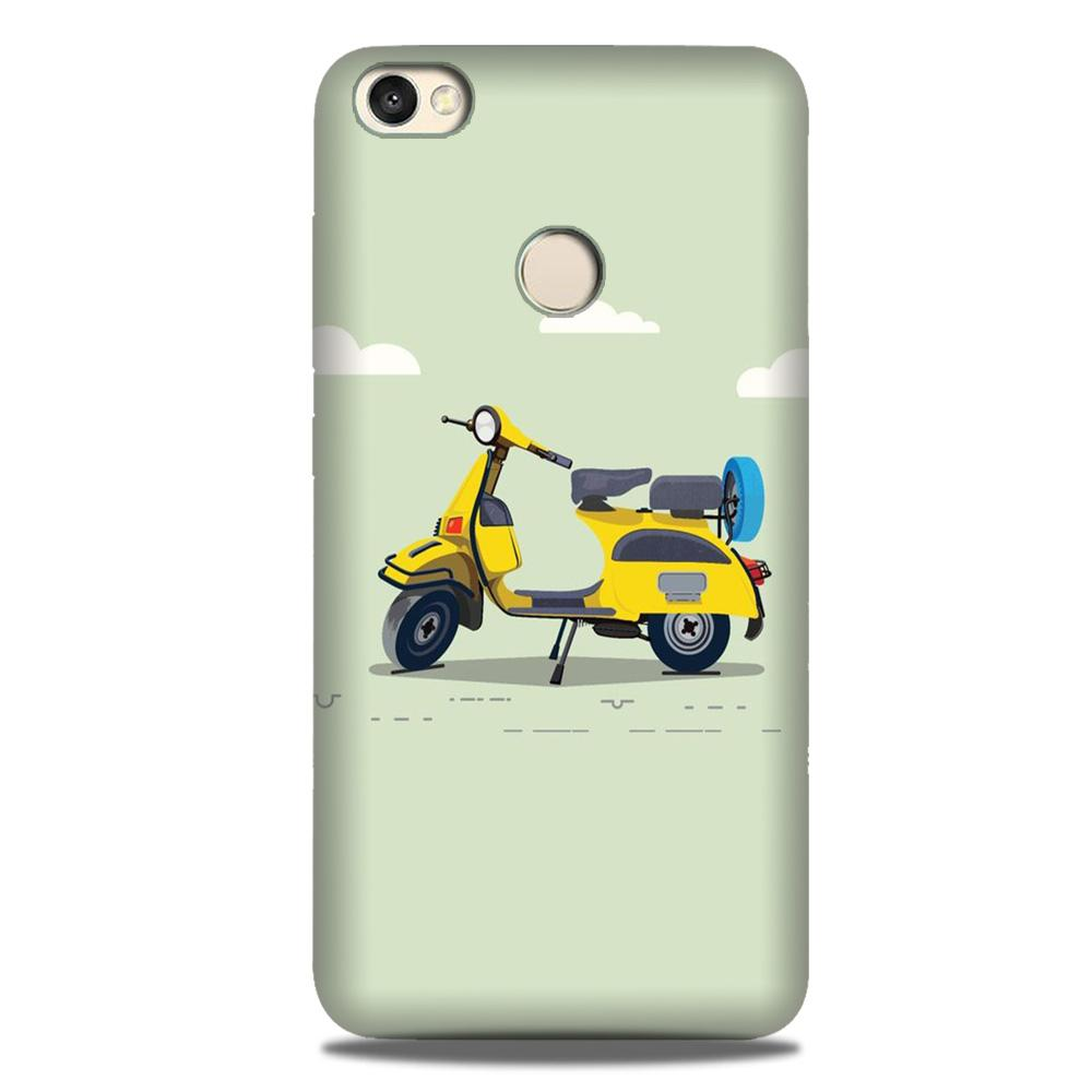 Vintage Scooter Case for Google Pixel 3A XL (Design No. 260)