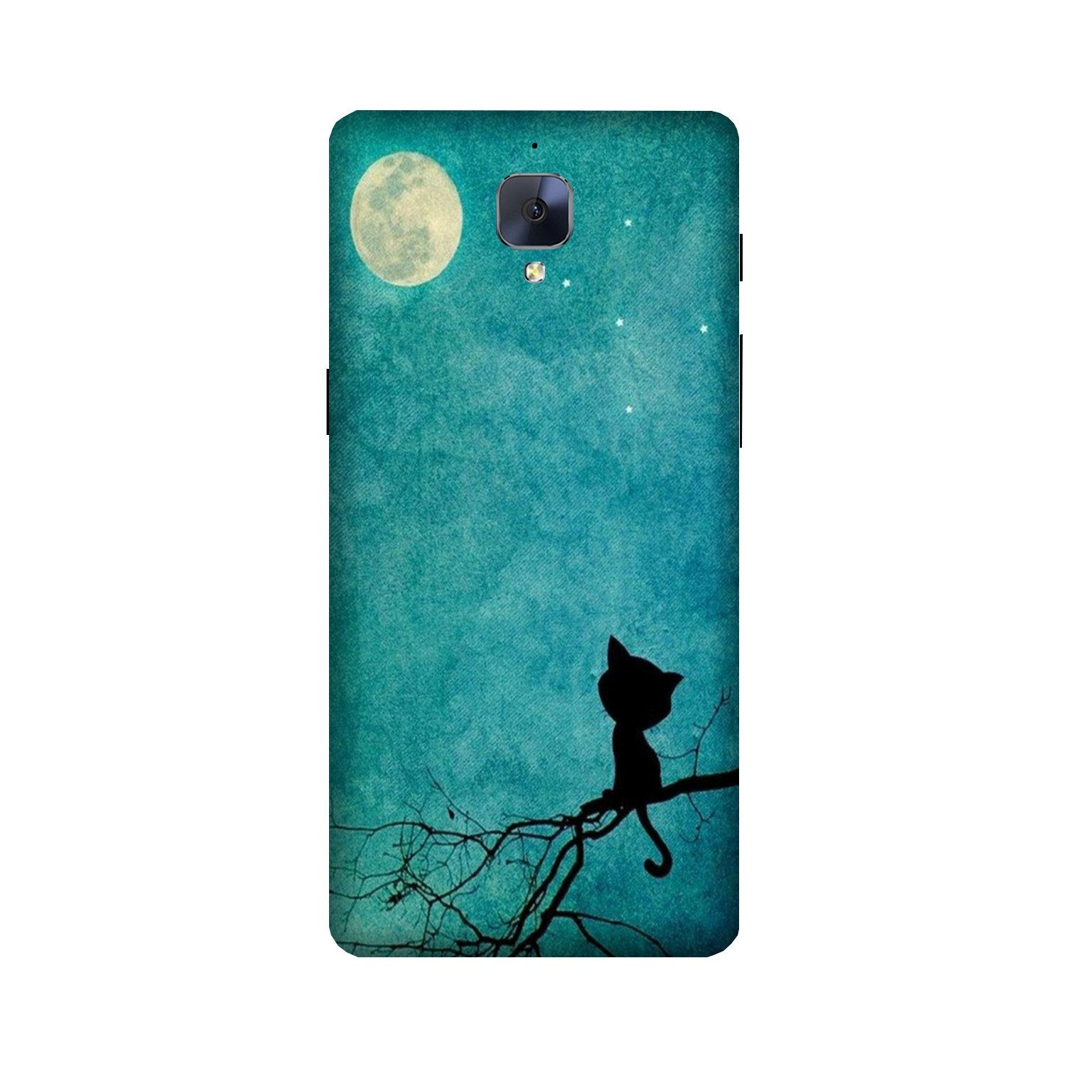 Moon cat Case for OnePlus 3/ 3T