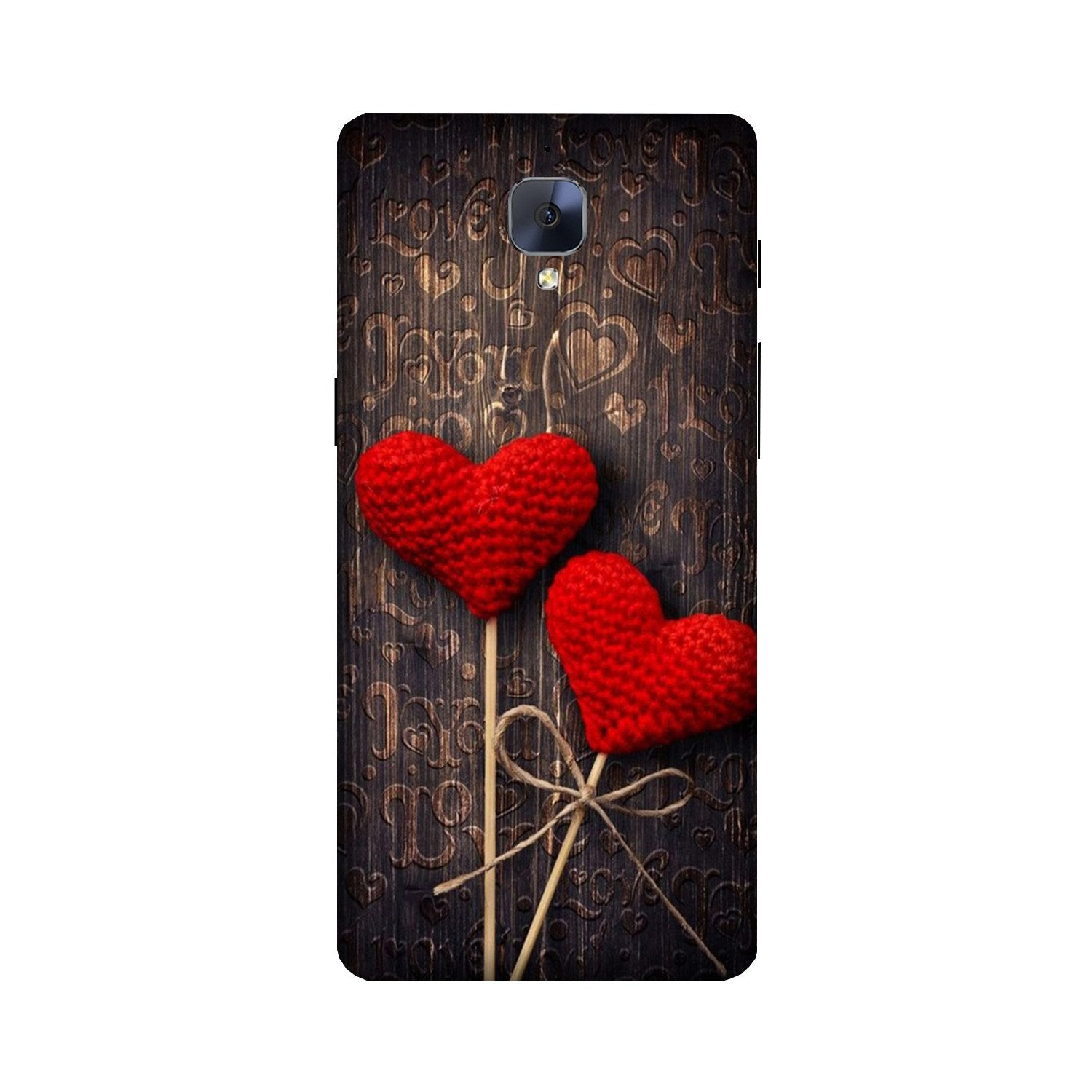 Red Hearts Case for OnePlus 3/ 3T