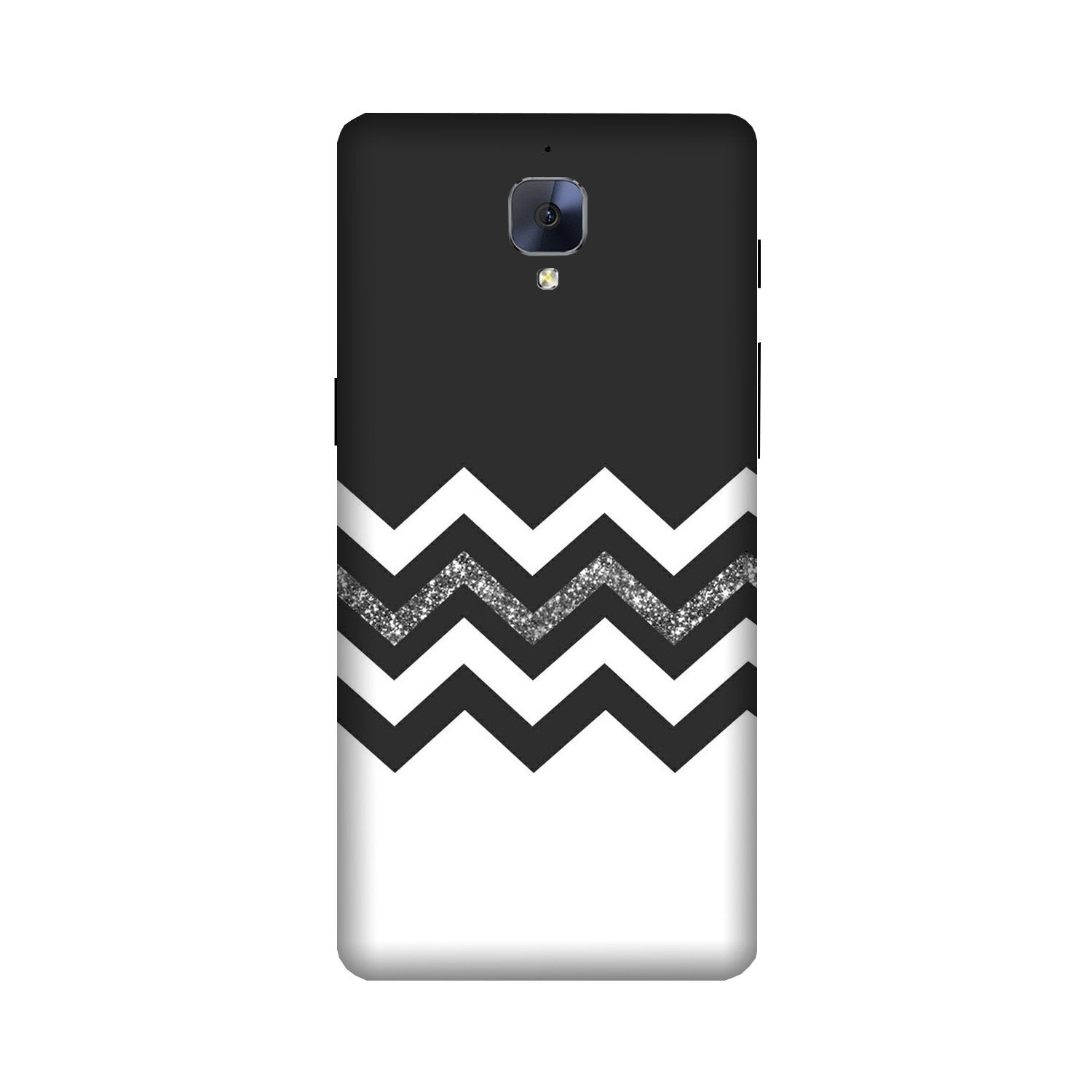 Black white Pattern2Case for OnePlus 3/ 3T