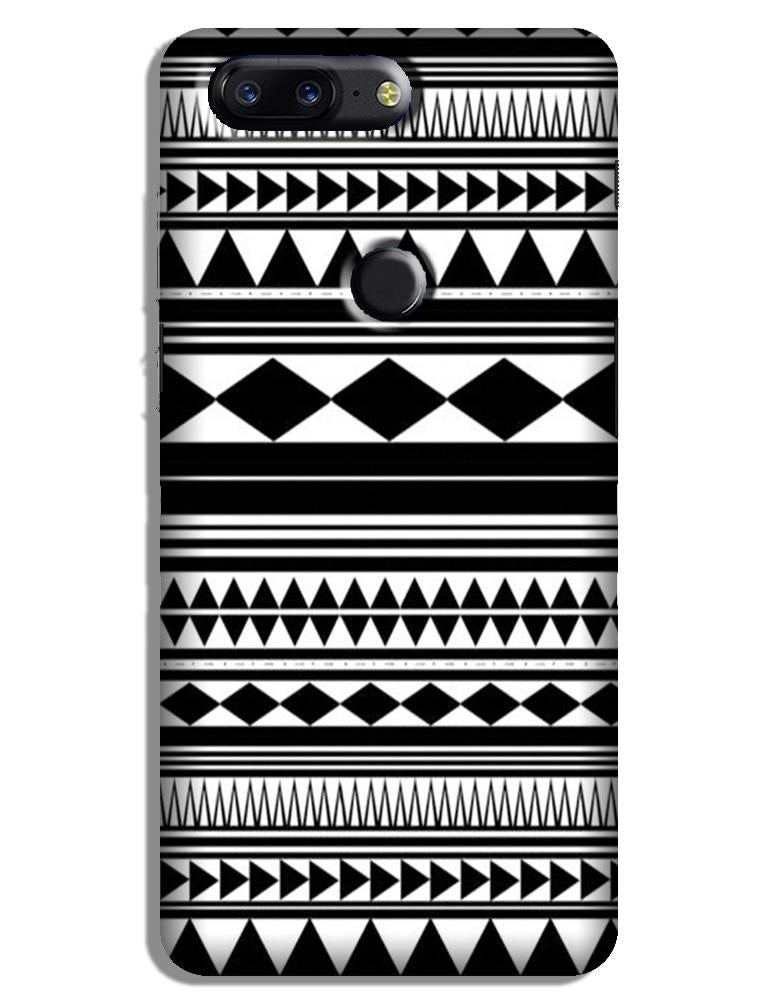 Black white Pattern Case for OnePlus 5T