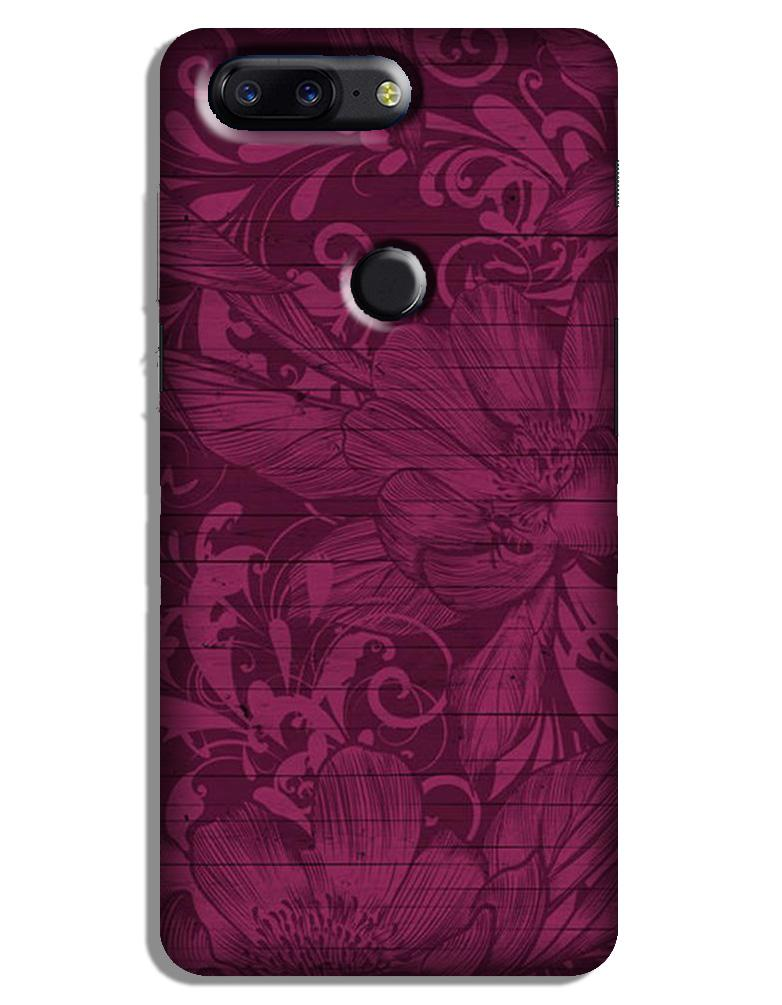 Purple Backround Case for OnePlus 5T