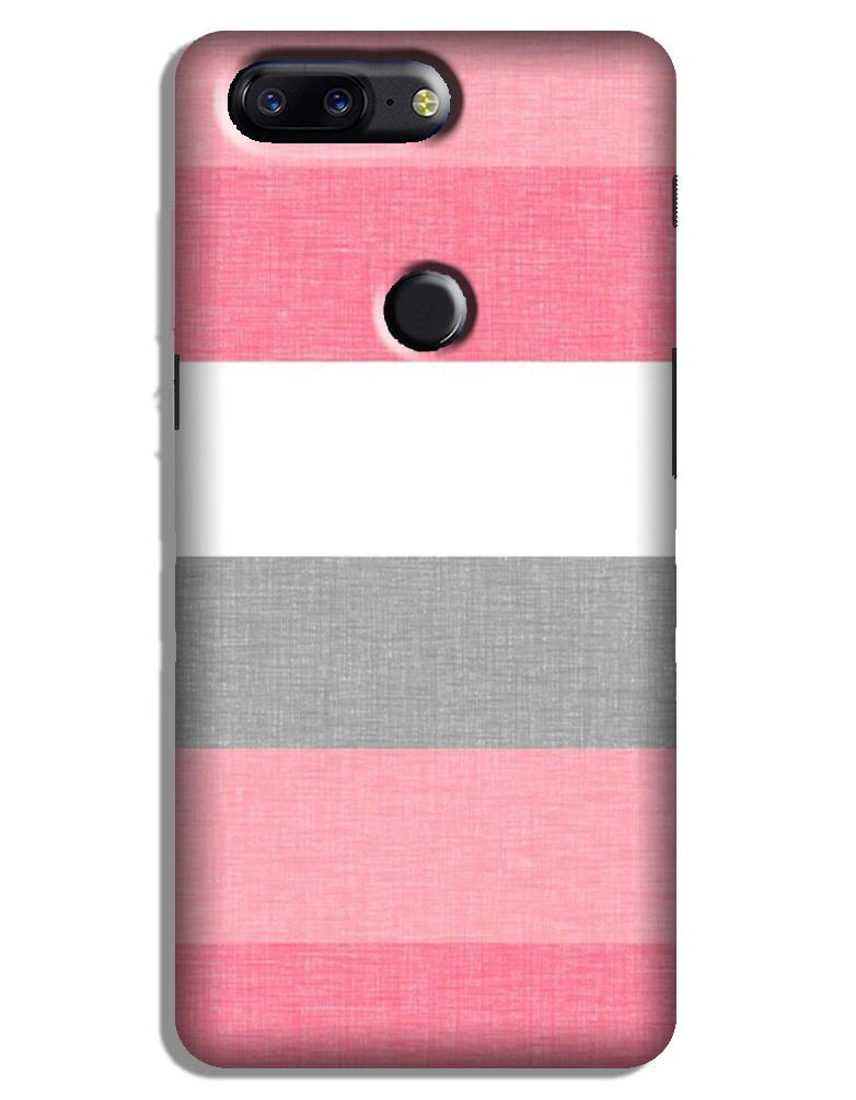 Pink white pattern Case for OnePlus 5T