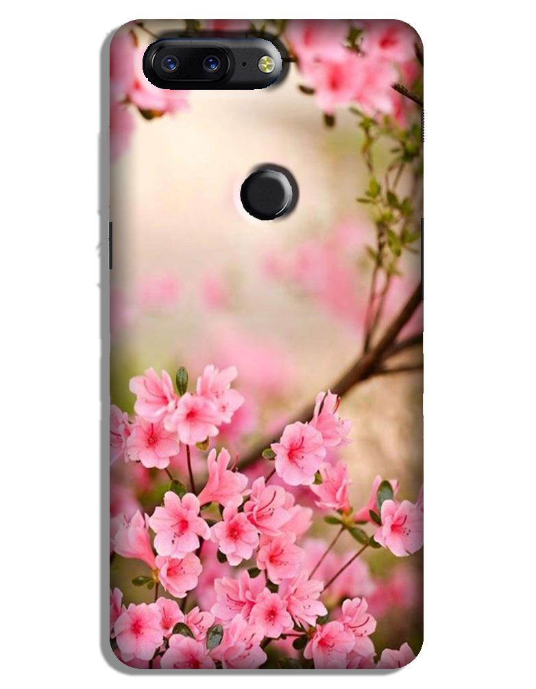 Pink flowers Case for OnePlus 5T
