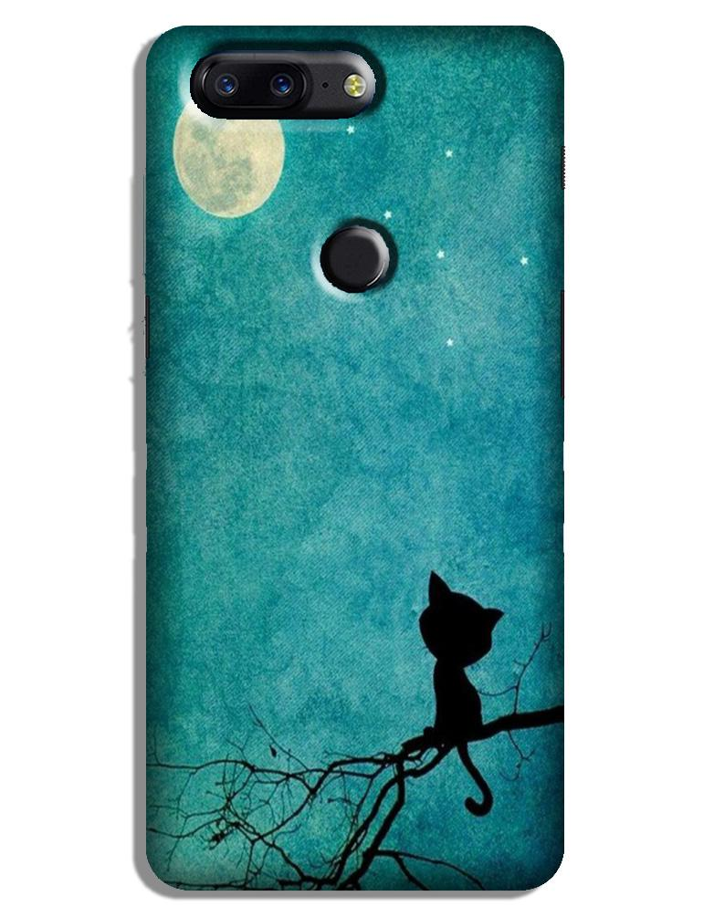 Moon cat Case for OnePlus 5T