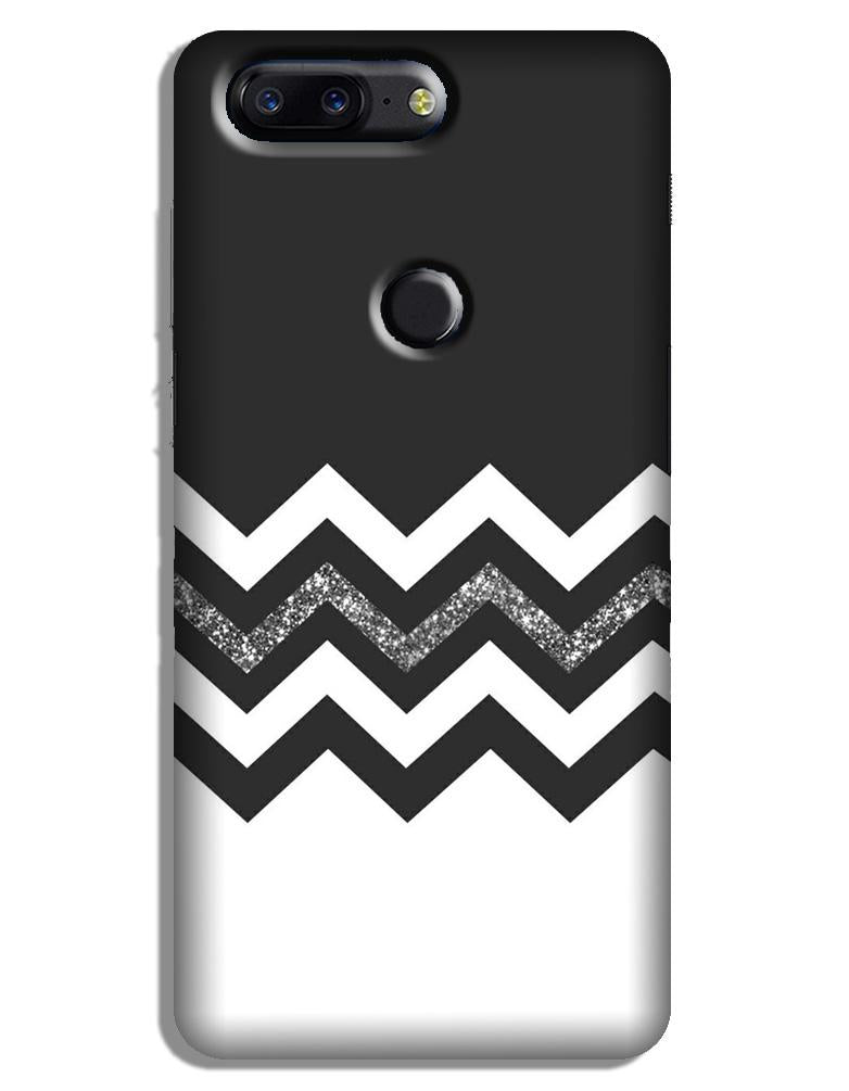 Black white Pattern2Case for OnePlus 5T