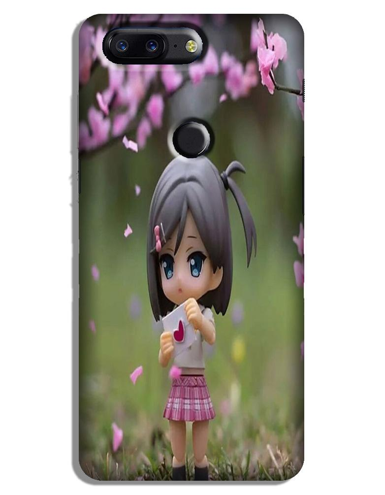 Cute Girl Case for OnePlus 5T