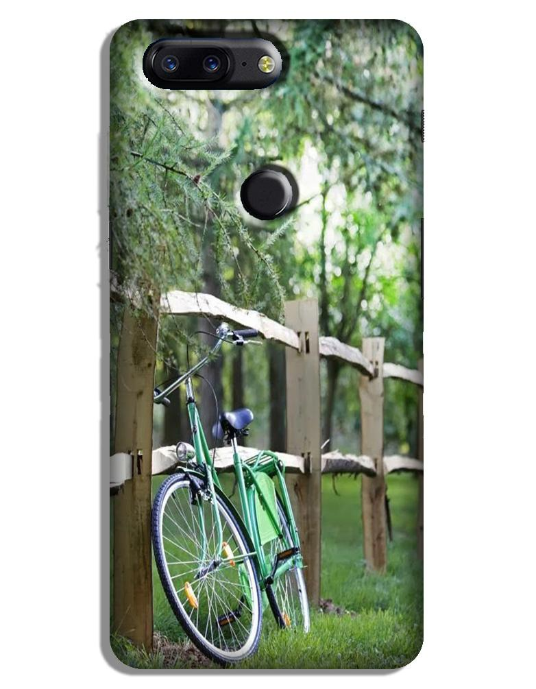Bicycle Case for OnePlus 5T (Design No. 208)