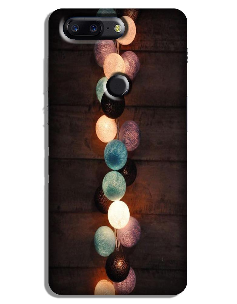 Party Lights Case for OnePlus 5T (Design No. 209)