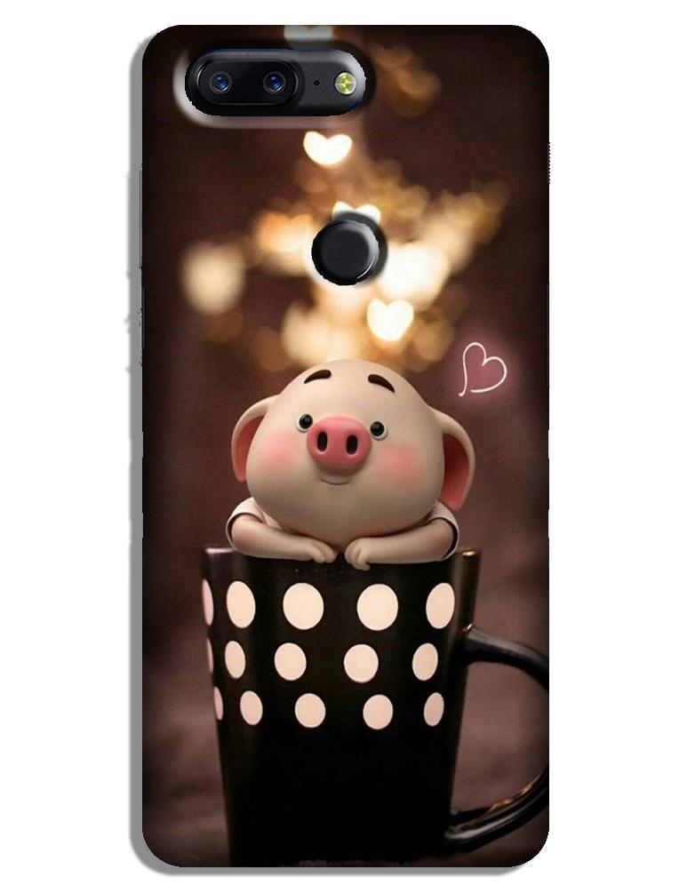 Cute Bunny Case for OnePlus 5T (Design No. 213)