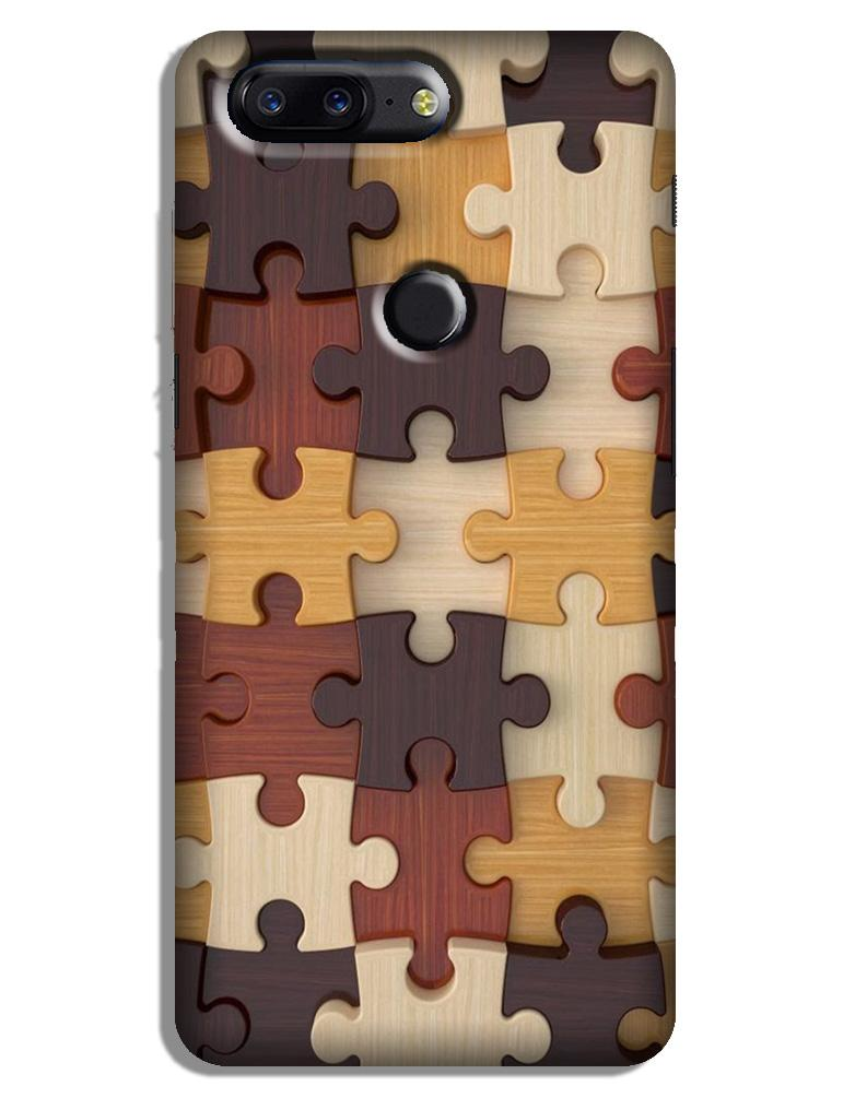 Puzzle Pattern Case for OnePlus 5T (Design No. 217)