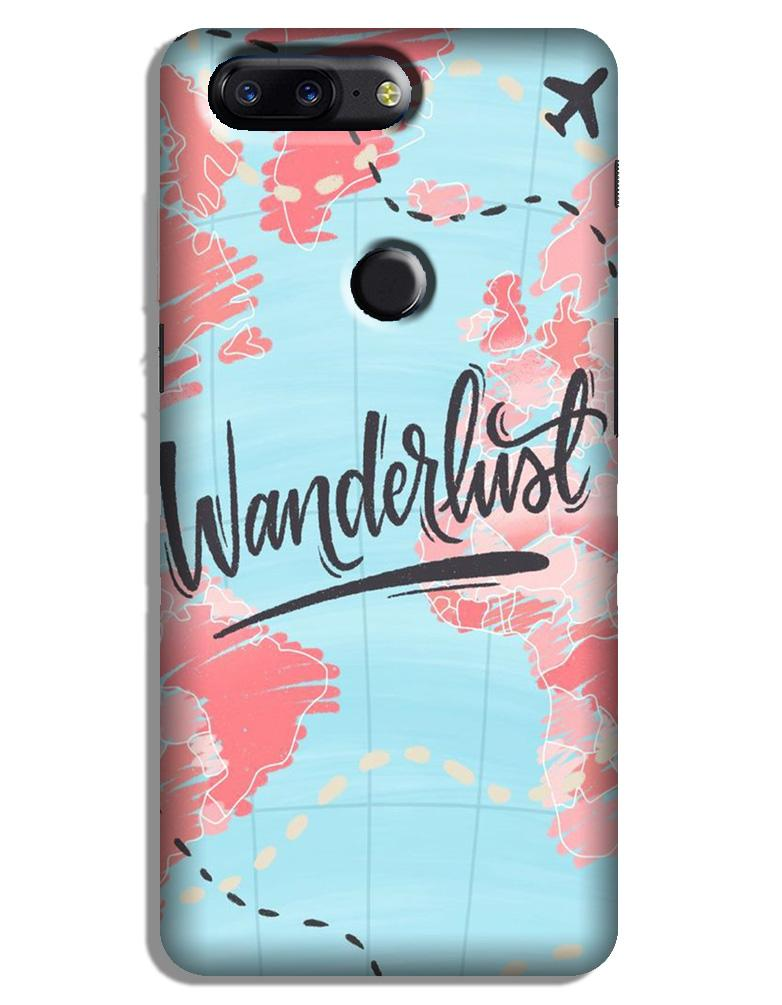 Wonderlust Travel Case for OnePlus 5T (Design No. 223)