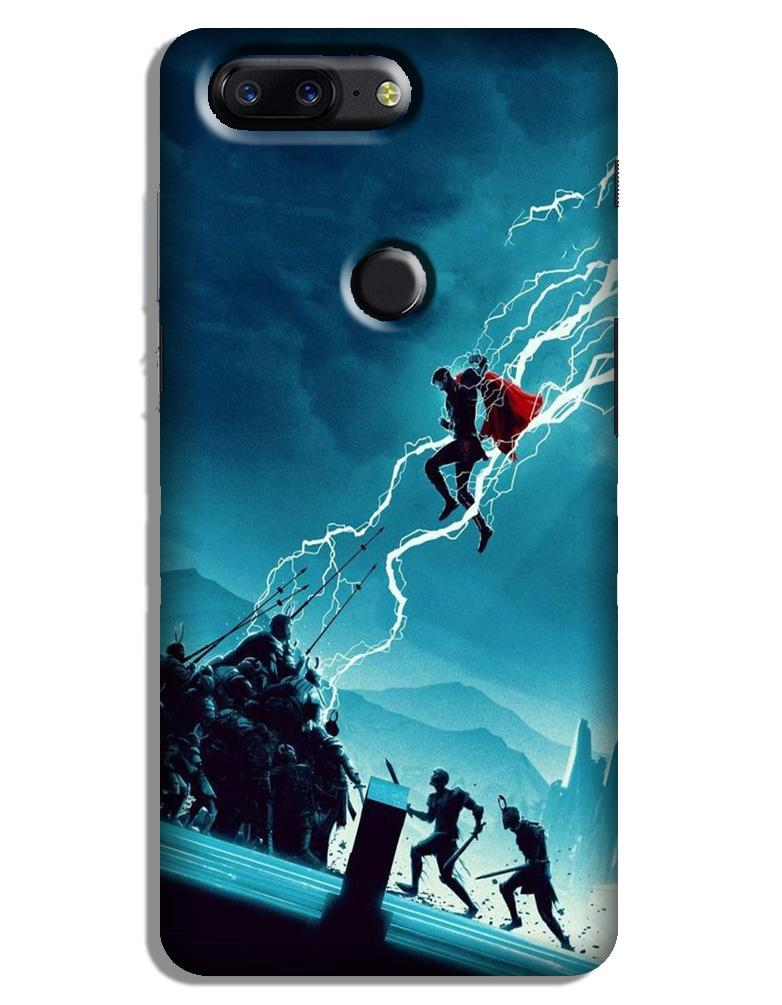 Thor Avengers Case for OnePlus 5T (Design No. 243)