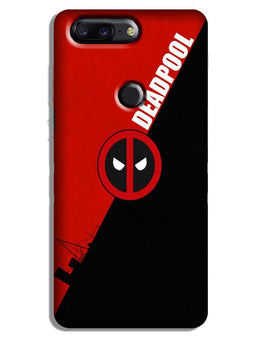 Deadpool Case for OnePlus 5T (Design No. 248)