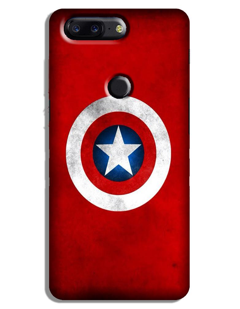 Captain America Case for OnePlus 5T (Design No. 249)