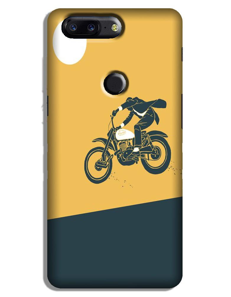Bike Lovers Case for OnePlus 5T (Design No. 256)