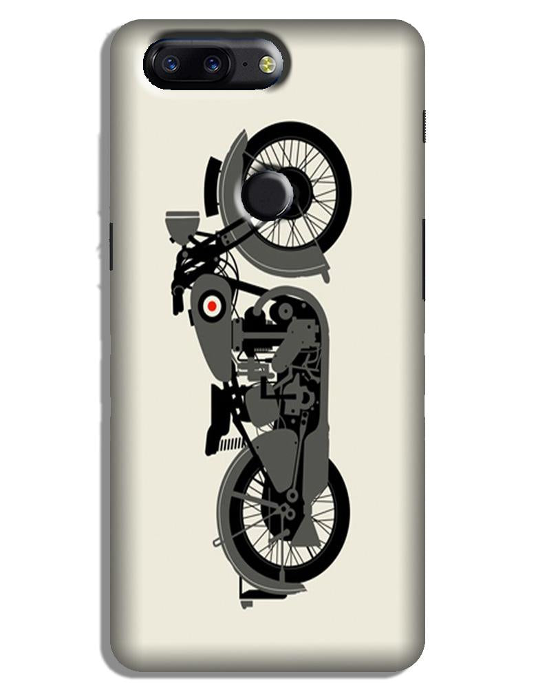 MotorCycle Case for OnePlus 5T (Design No. 259)
