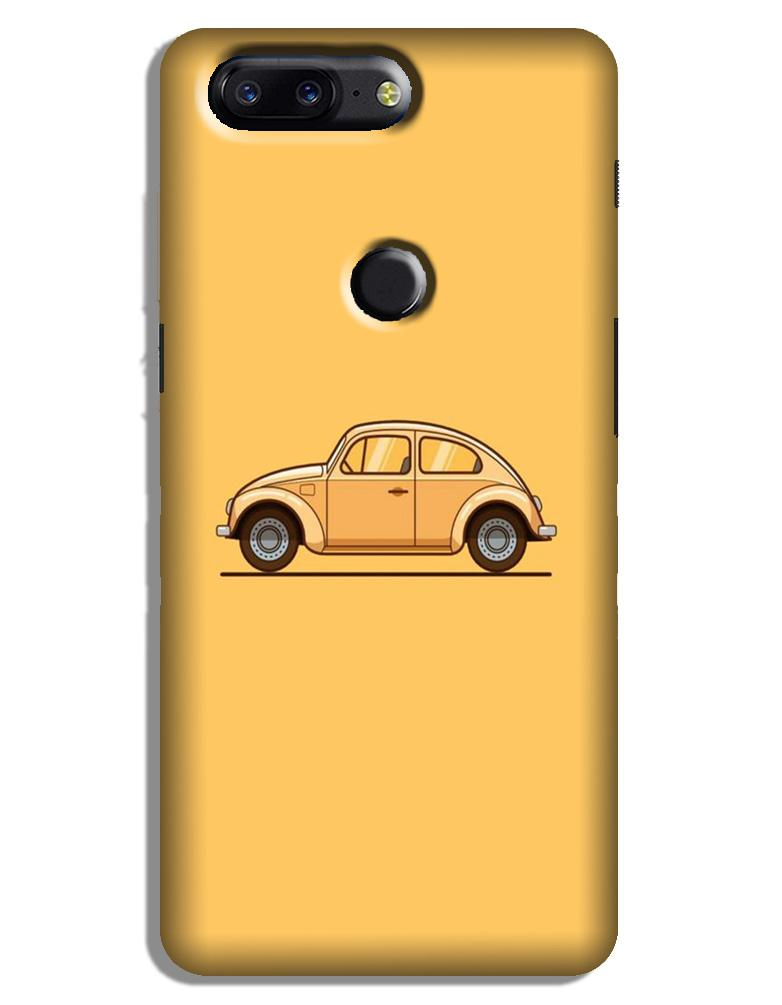 Vintage Car Case for OnePlus 5T (Design No. 262)