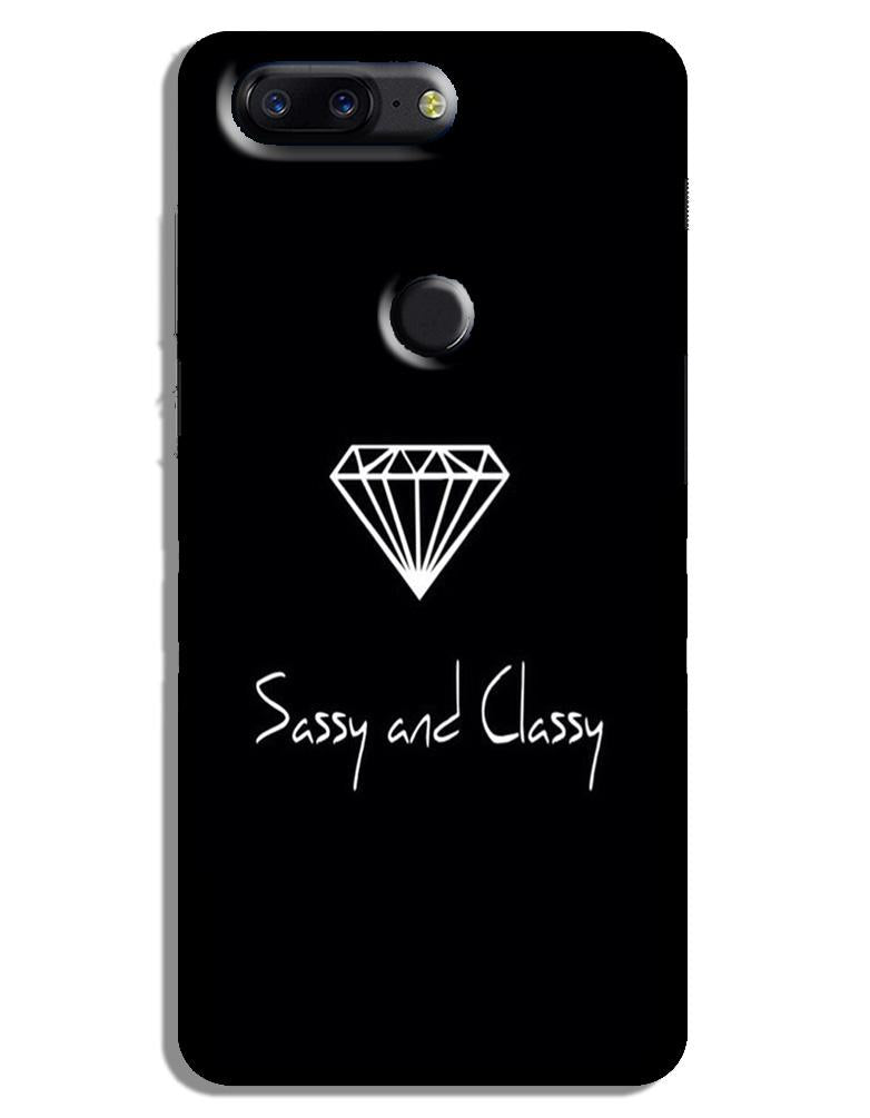 Sassy and Classy Case for OnePlus 5T (Design No. 264)