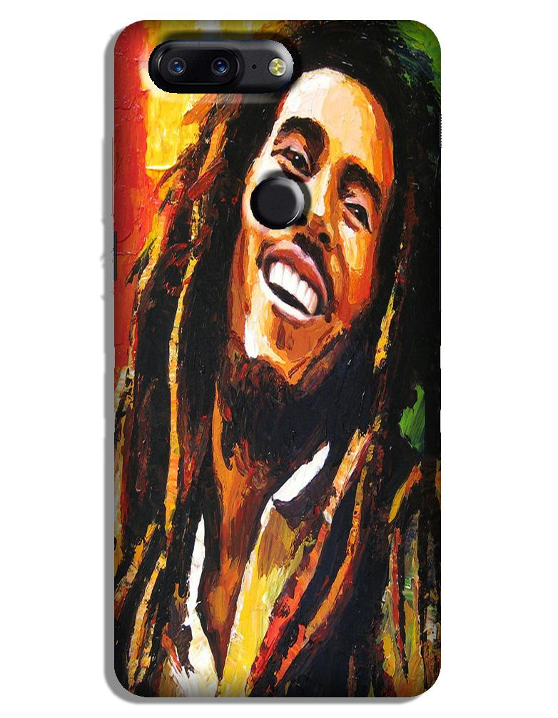 Bob marley Case for OnePlus 5T (Design No. 295)
