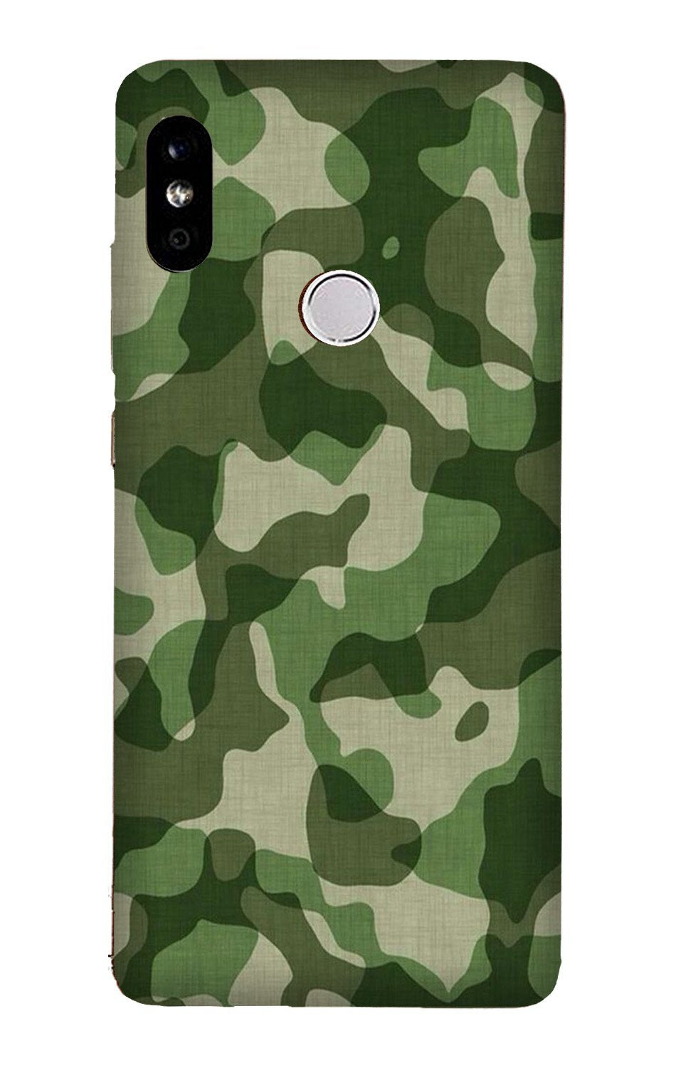 Army Camouflage Case for Xiaomi Redmi Y3  (Design - 106)