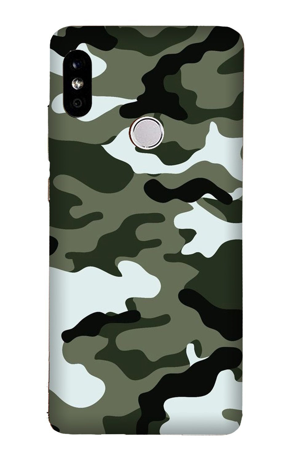 Army Camouflage Case for Xiaomi Redmi Y3  (Design - 108)