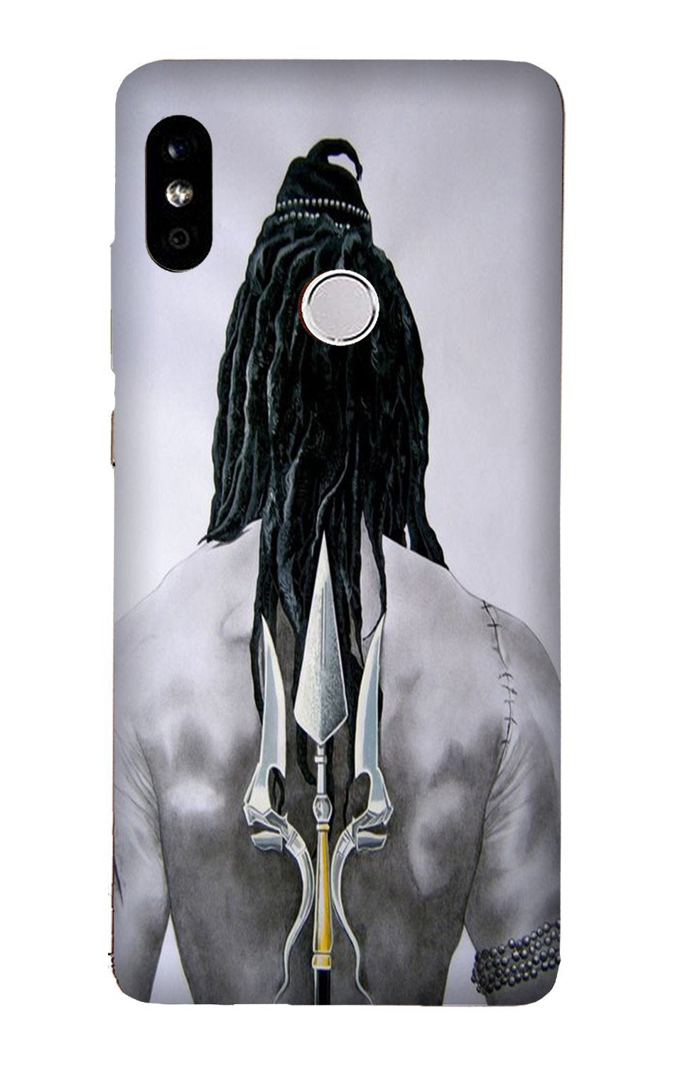 Lord Shiva Case for Xiaomi Redmi Y3  (Design - 135)